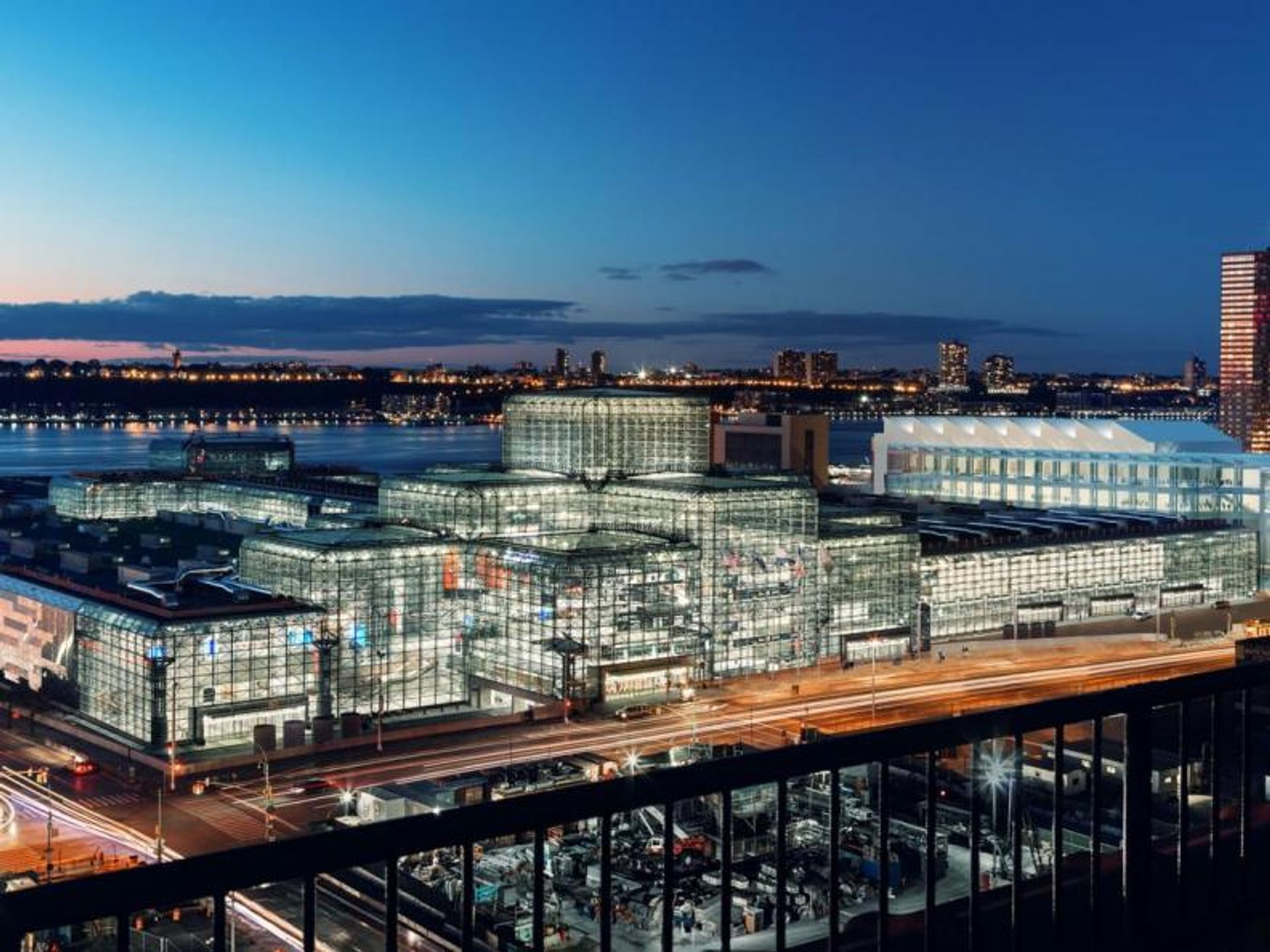 Exterior rendering of the Javits Center, currently undergoing a $1.5bn revamp. Courtesy of Gov. Andrew Cuomo's office