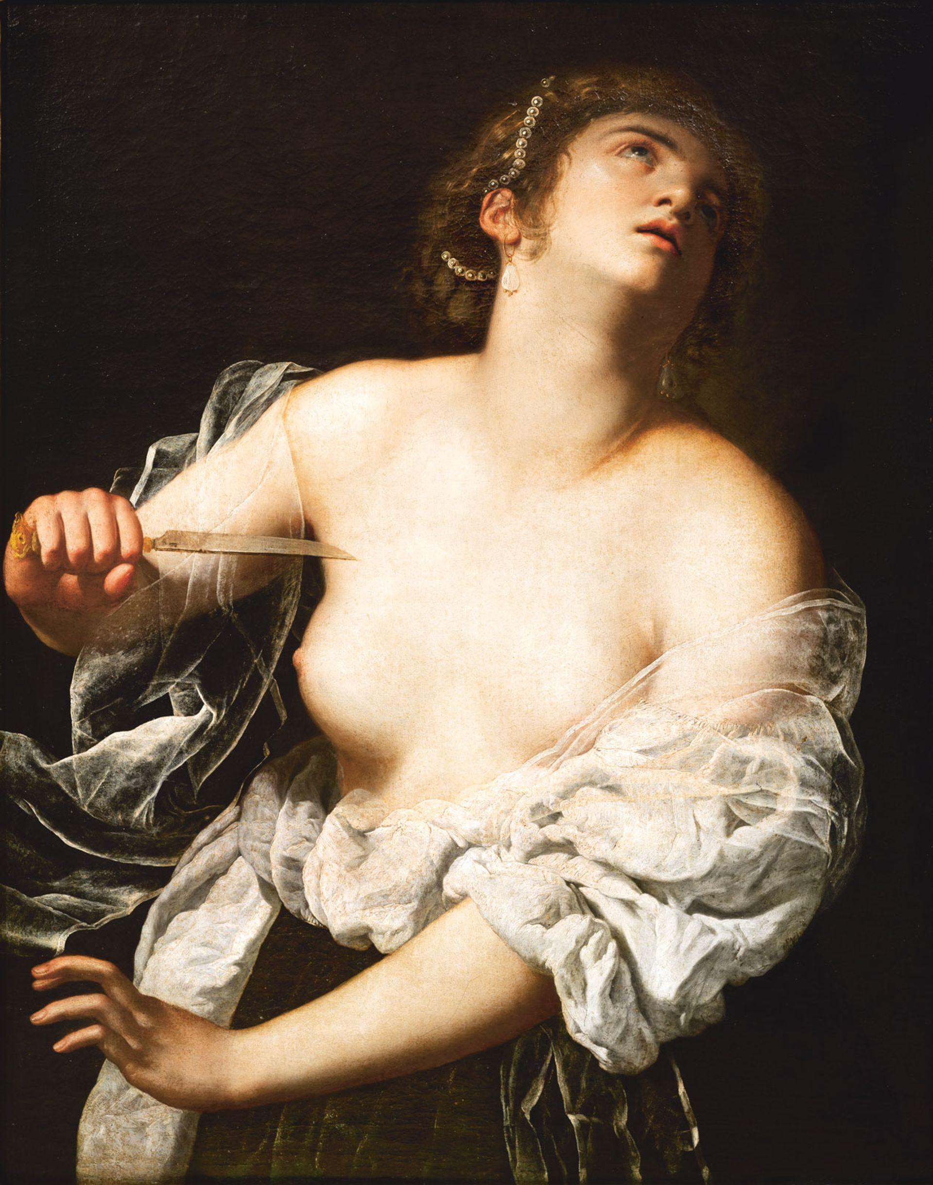 Artemisia Gentileschi's depiction of Lucretia sold for €4.8m at Artcurial © Artcurial