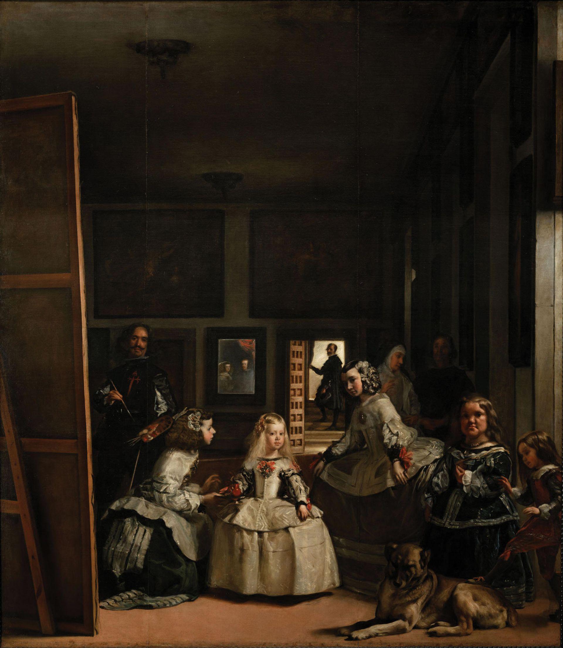 Velázquez's Las Meninas (1656) Courtesy of the Museo del Prado, Madrid