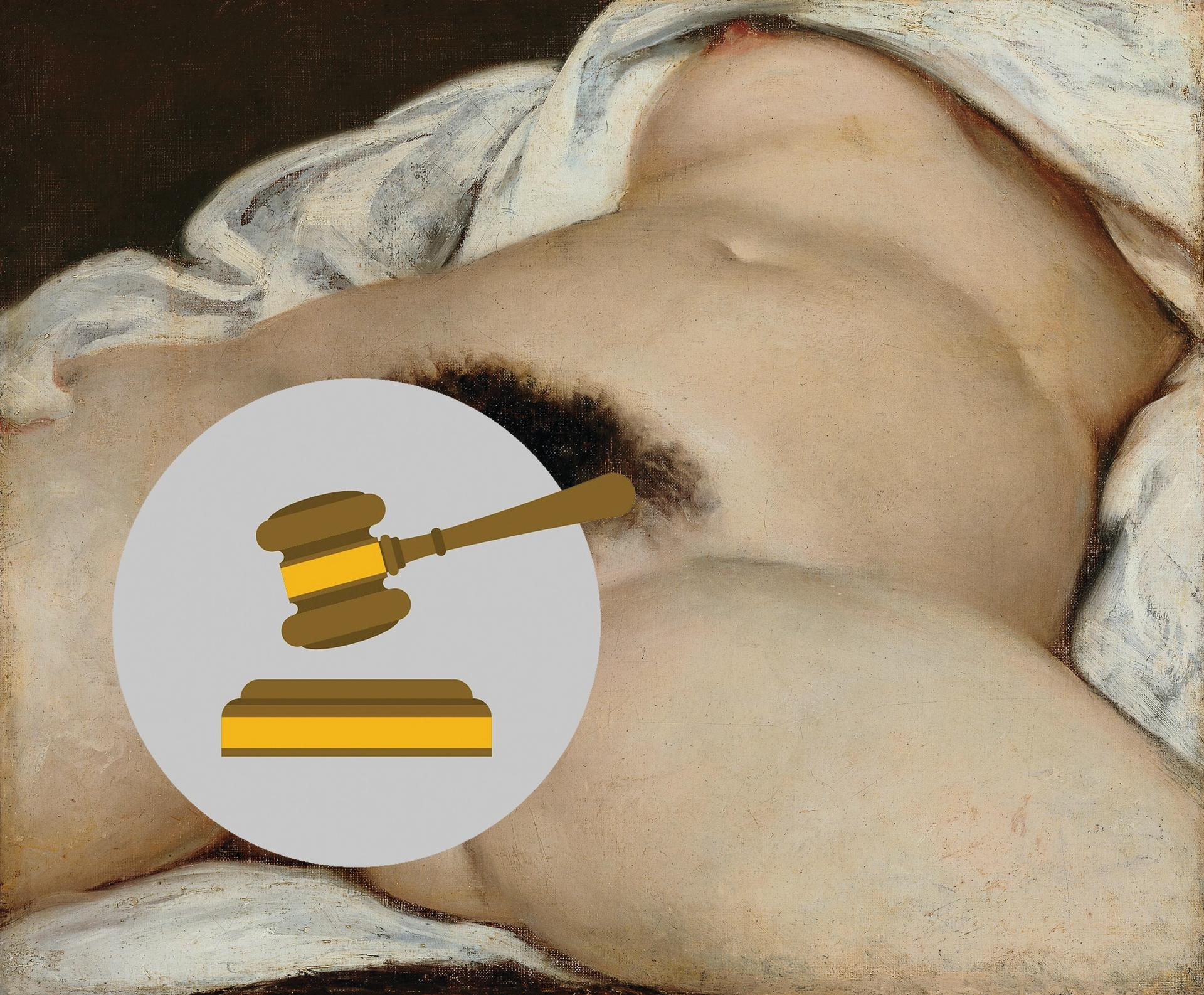 """Durand's claim that Facebook closed his account because he posted an image of Courbet's L'Origine du monde was  """"unfounded"""", the French court says"""