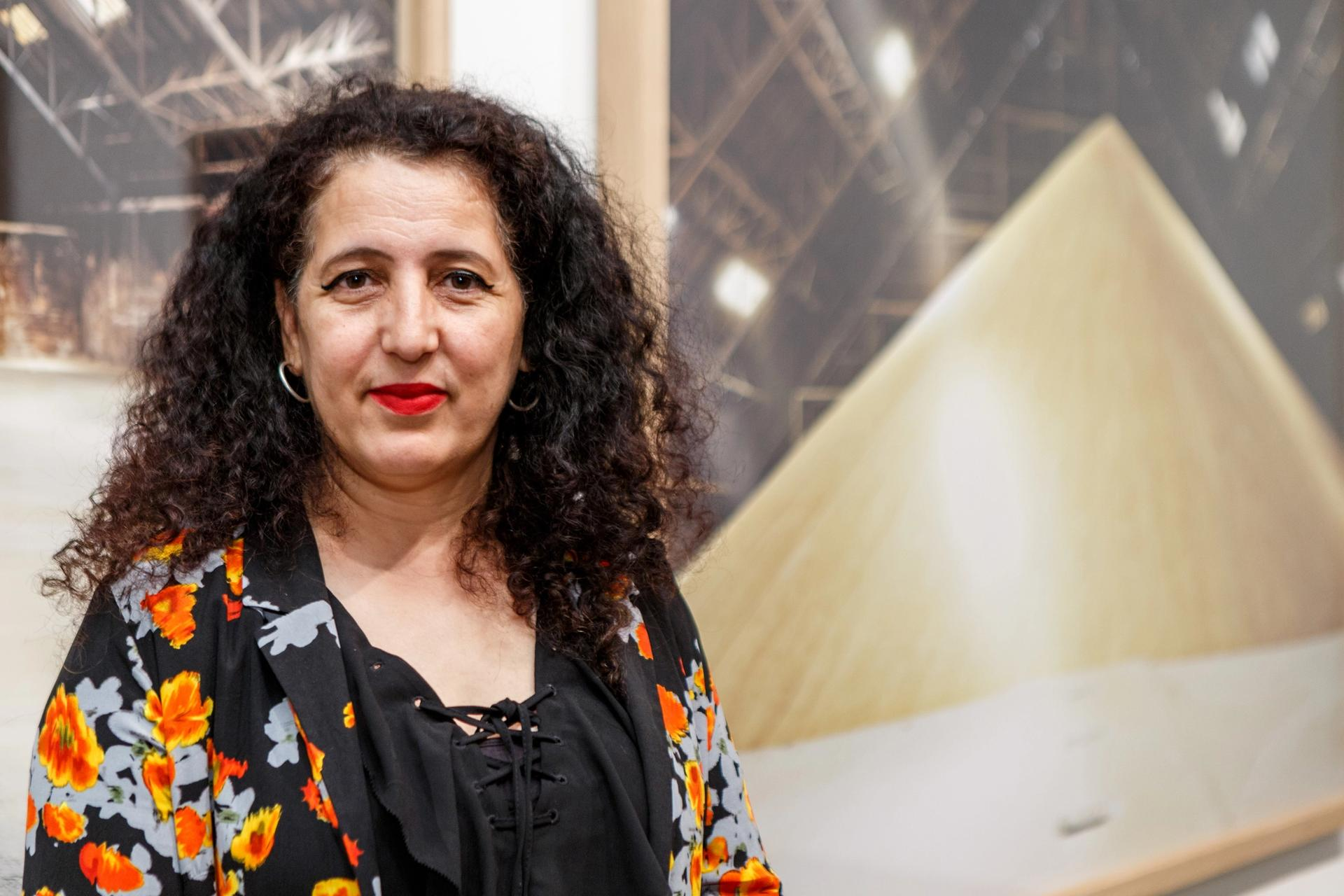 Zineb Sedira Photo: Musthafa Aboobacker. Courtesy of Third Line gallery
