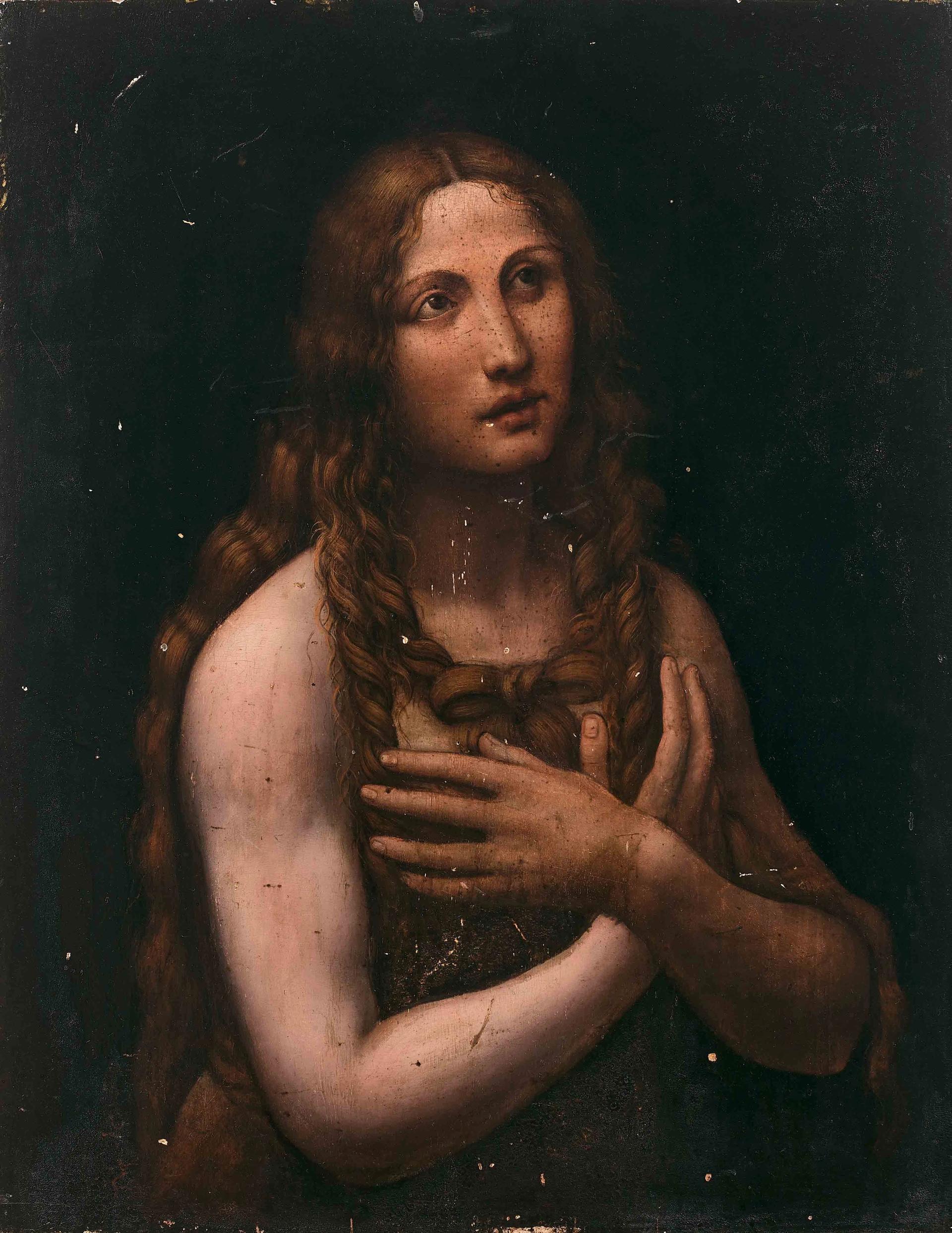 Salaì's Penitent Magdalene sold for €1.7m © Artcurial