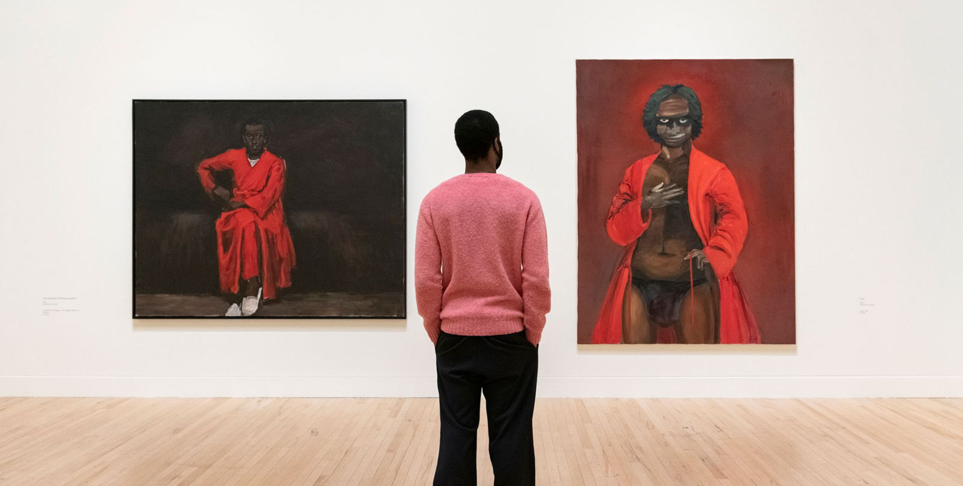 Installation view of Lynette Yiadom-Boakye's exhibition at Tate Britain