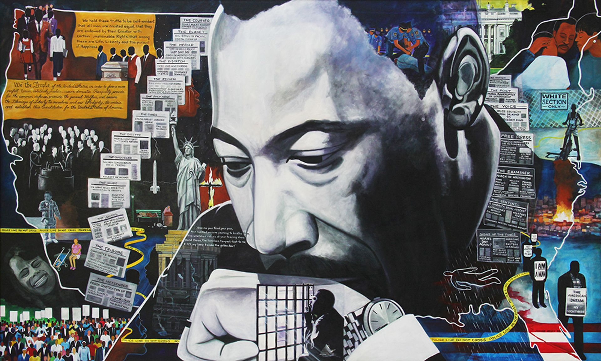 Jerome Jones, I'm Sorry Dr. King (1998) Courtesy of Jerome and Jeromyah Jones
