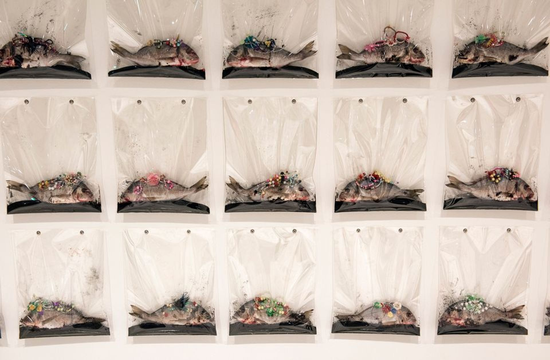 Lee Bul's Majestic Splendor (1991-2018) at the Hayward Gallery 2018 Lee Bul 2018; Photo: Linda Nylind