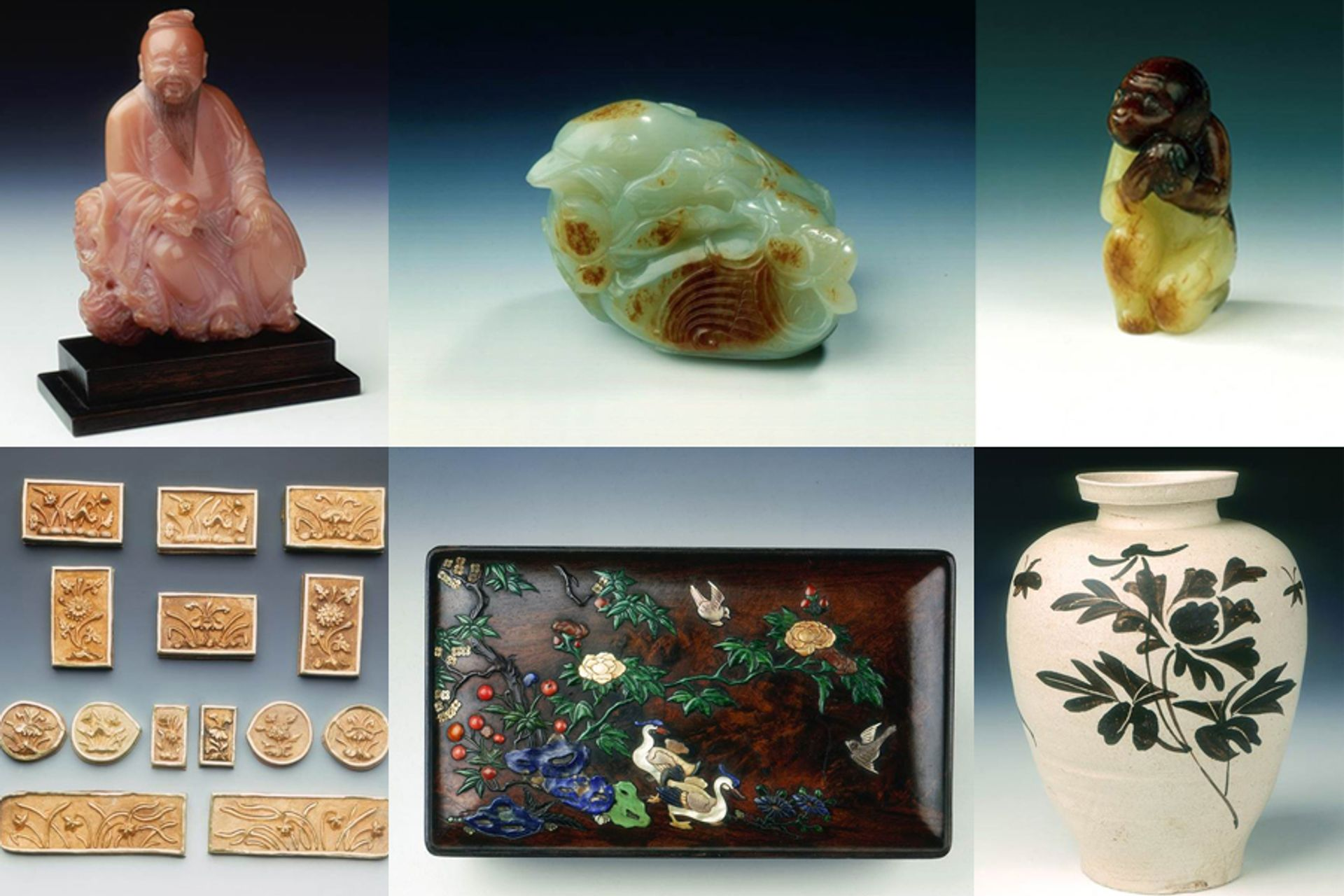 Some of the objects stolen from the Bath Museum of East Asian Art Avon and Somerset Police