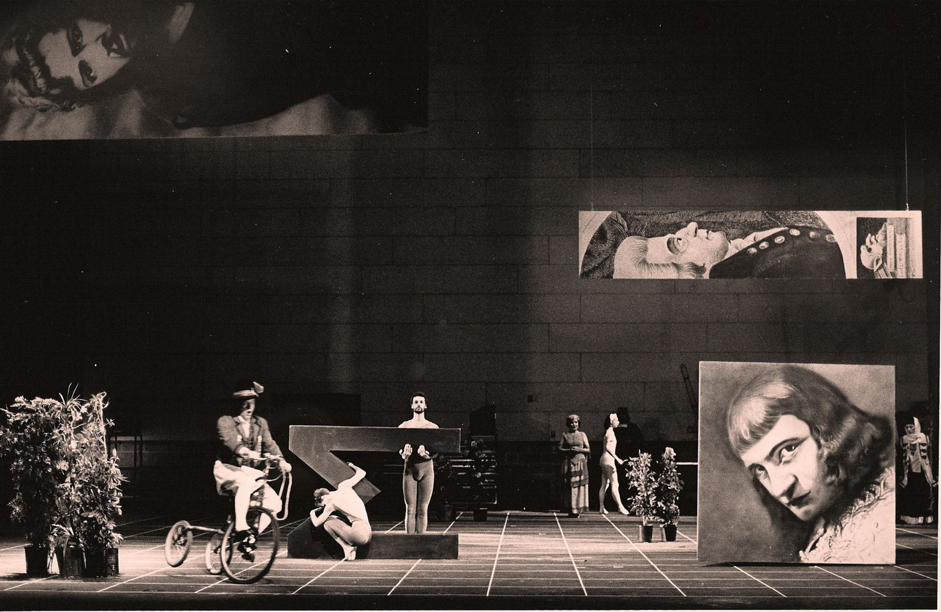 Europeras 1 & 2 by John Cage, whose ideas influenced Fluxus Beatriz Schiller; courtesy of the John Cage Trust