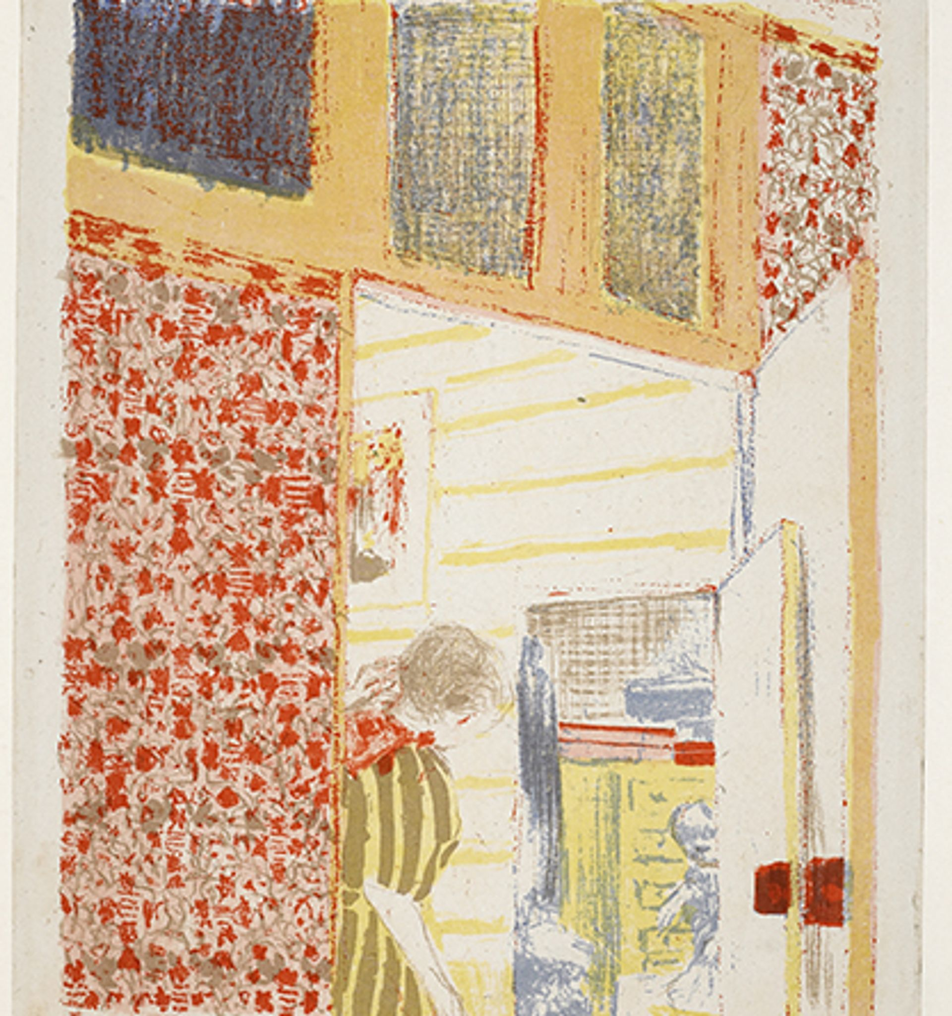 Interior with Pink Wallpaper III (1899) Courtesy Holburne Museum
