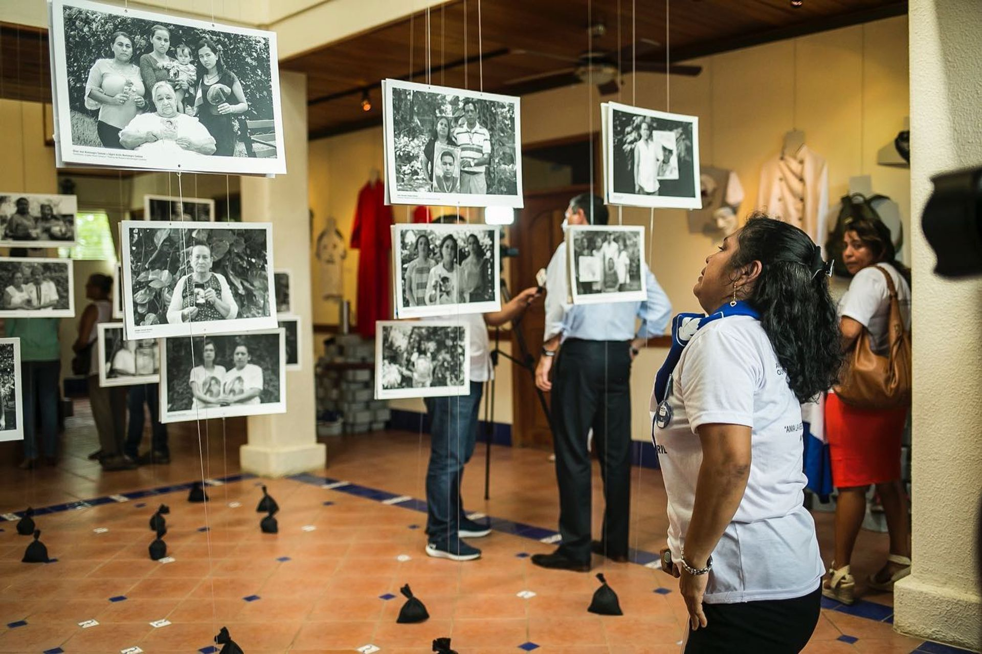 The Museum of Memory Against Impunity was open to visitors in galleries provided by Managua's Institute of History for Nicaragua and Central America through February 2020