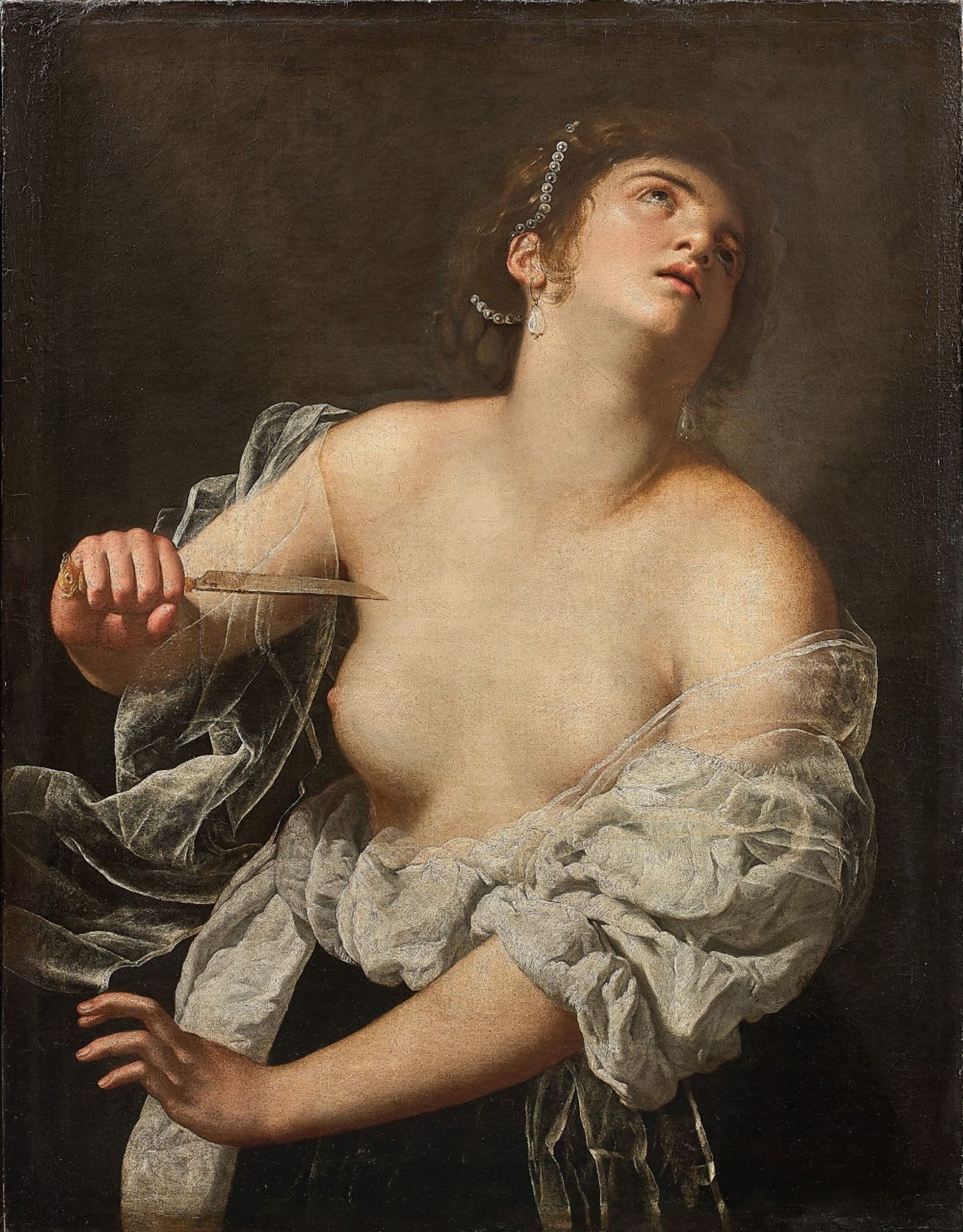 The Parisian auction house Artcurial says this painting is by the 17th-century artist Artemisia Gentileschi Courtesy of Artcurial