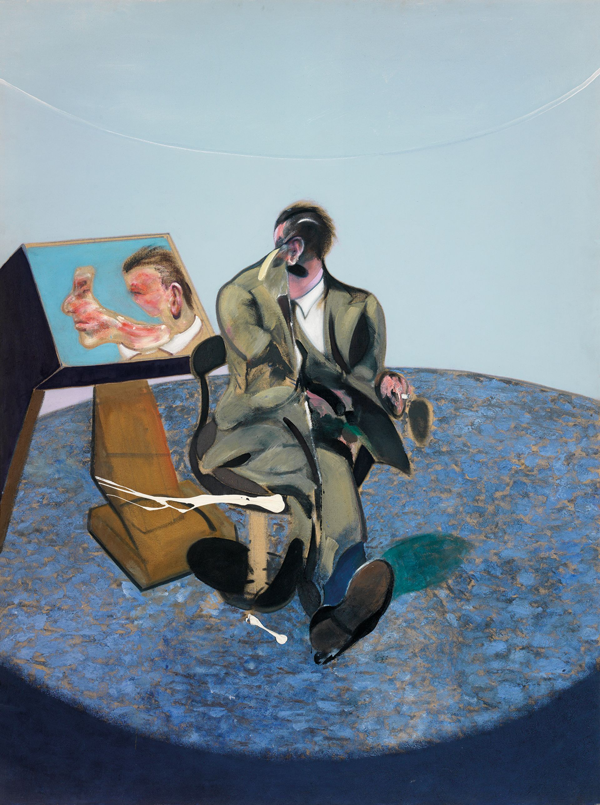 Brutal coupling in real life too:  Francis Bacon's Portrait of George Dyer in a Mirror (1968) Photo © Hugo Maertens