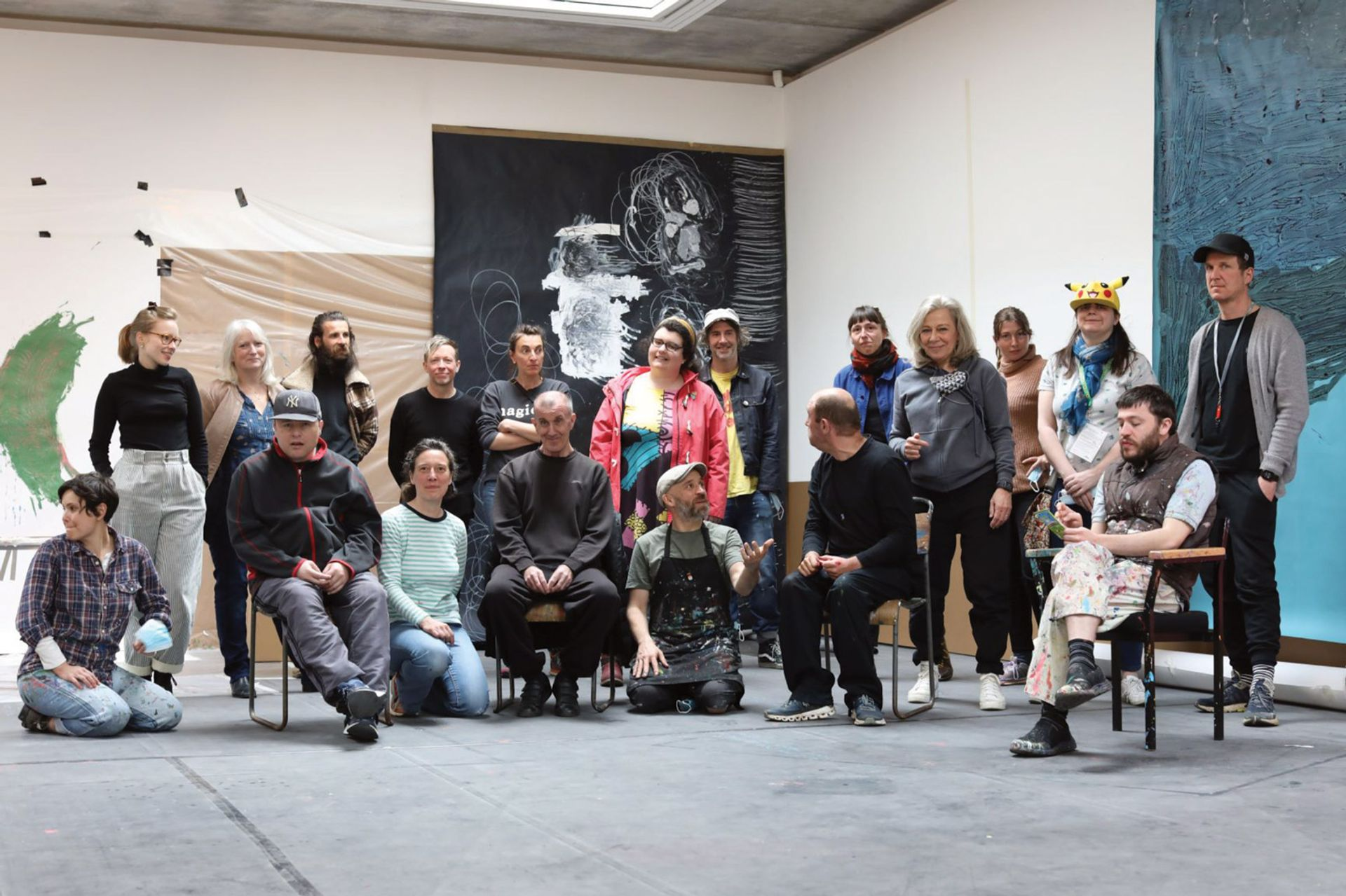 Project Art Works, a collective of neurodiverse artists and activists, has been nominated for the Turner Prize © Project Art Works
