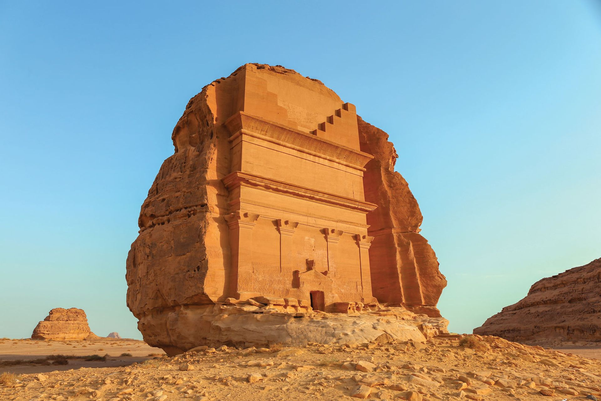 The Mada'in Salih archaeological site in Al-Ula could open to tourists under the deal with France Shutterstock/cpaulfell