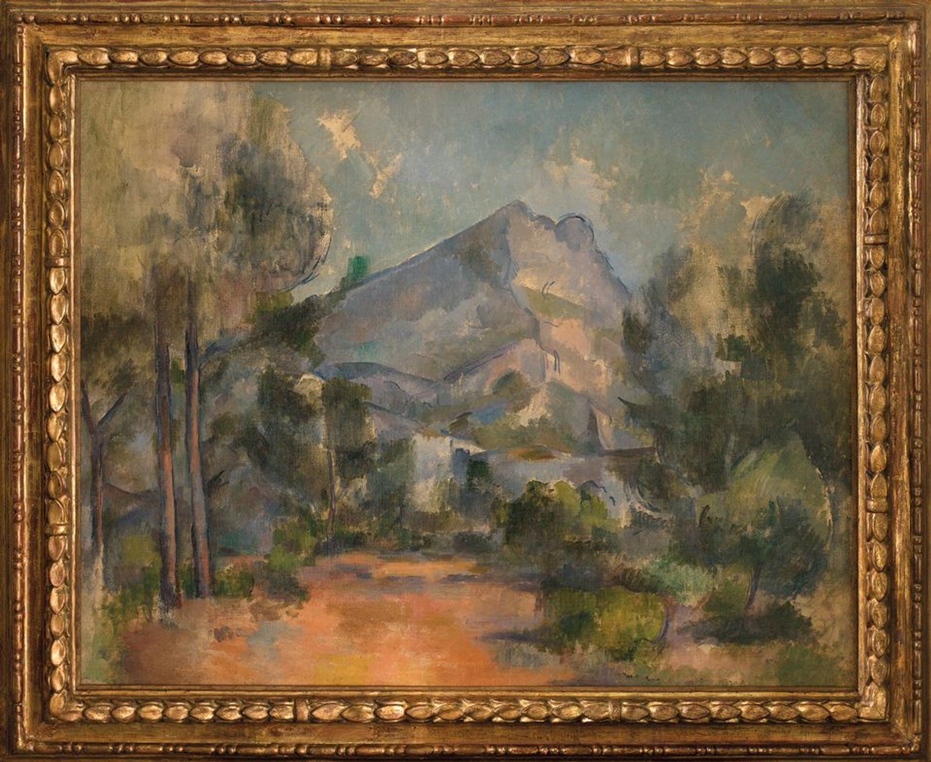 The Kunstmuseum Bern and the heirs of Paul Cézanne negotiated an innovative deal to share the contested painting La Montagne Sainte-Victoire (1897) © Kunstmuseum Bern