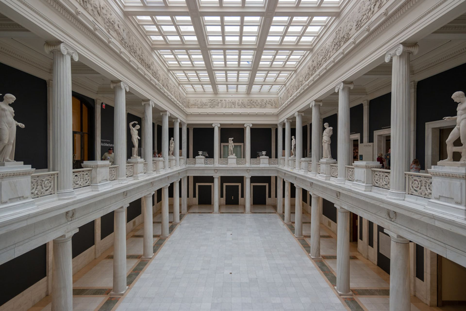 The architecture wing at the Carnegie Museum of Art in Pittsburgh
