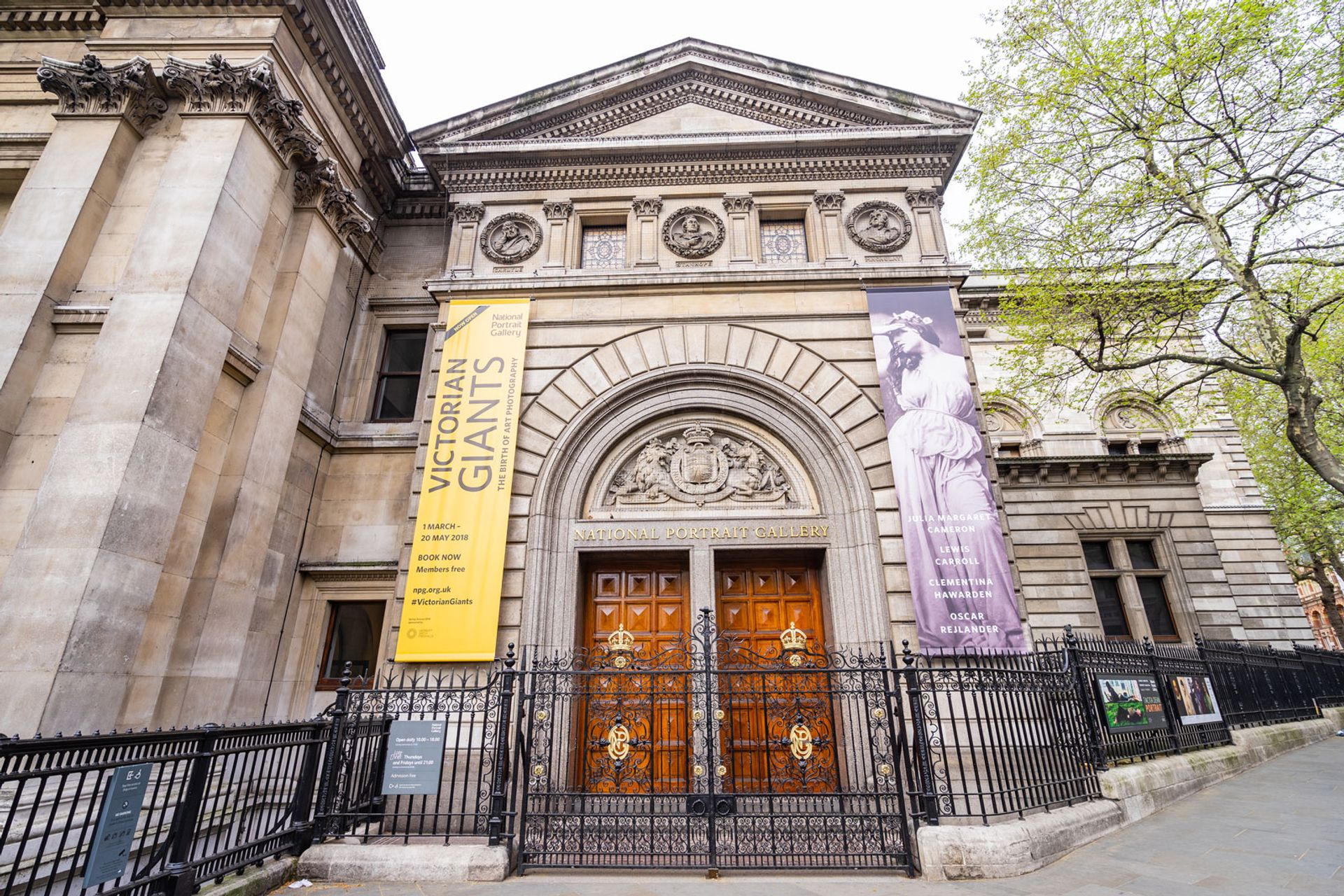 The National Portrait Gallery in London will be closed between between 2020 and 2023