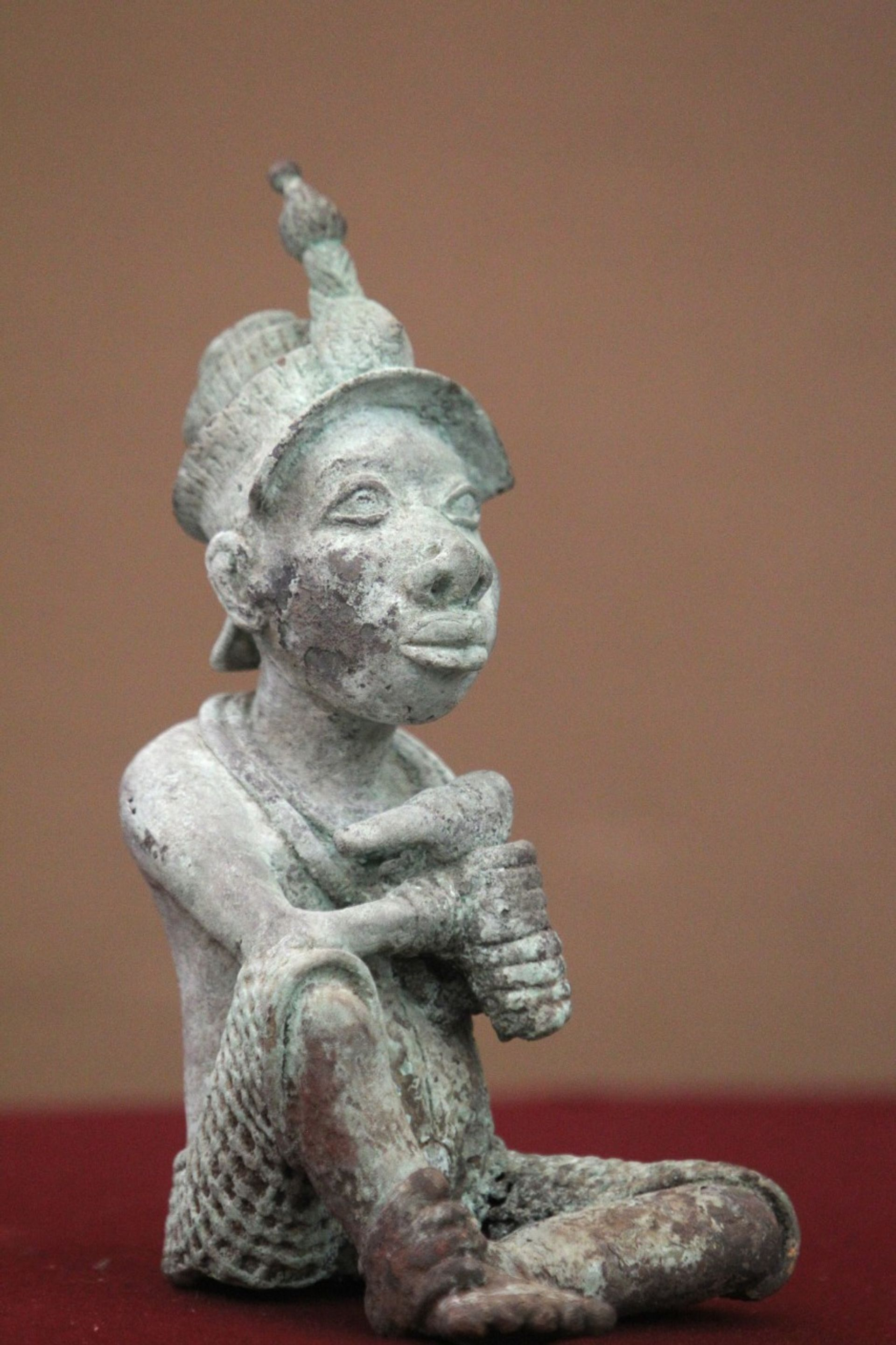 The bronze Ife sculpture that was recently returned from Mexico to Nigeria is believed to be a fake Courtesy of the Mexican ministries of foreign affairs and culture