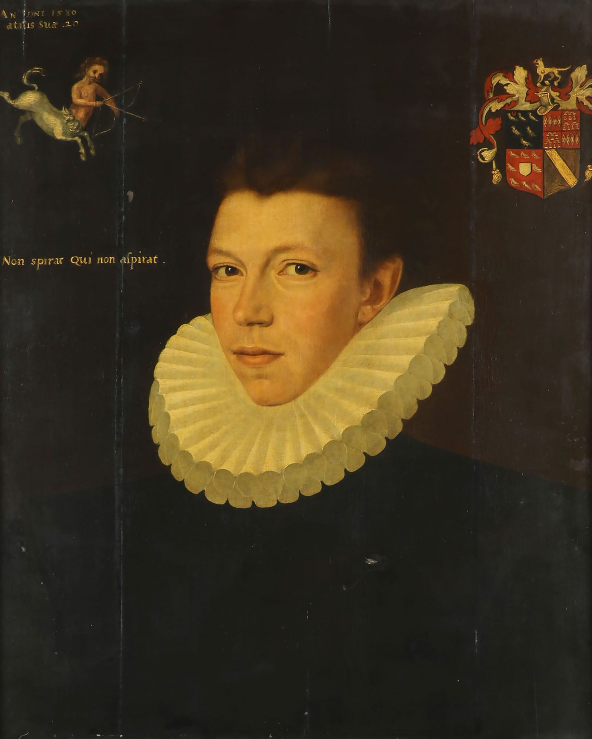 Portrait thought to be of Thomas Arundell (1580) by George Gower Courtesy of Woolley & Wallis