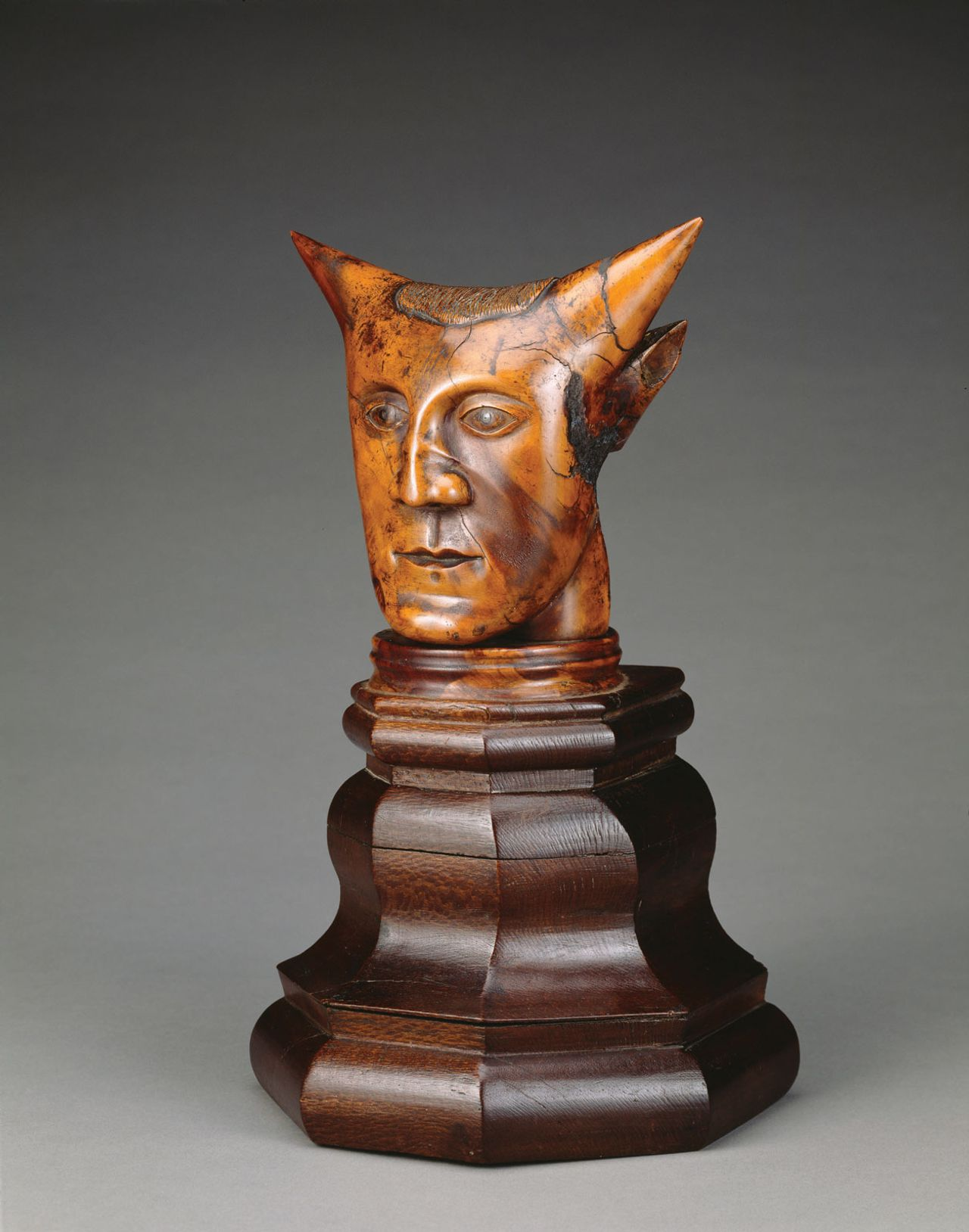 Head with Horns in the J Paul Getty Museum, Los Angeles, was almost certainly made in the Pacific—but not by Gauguin © Thomas R Machnitzki