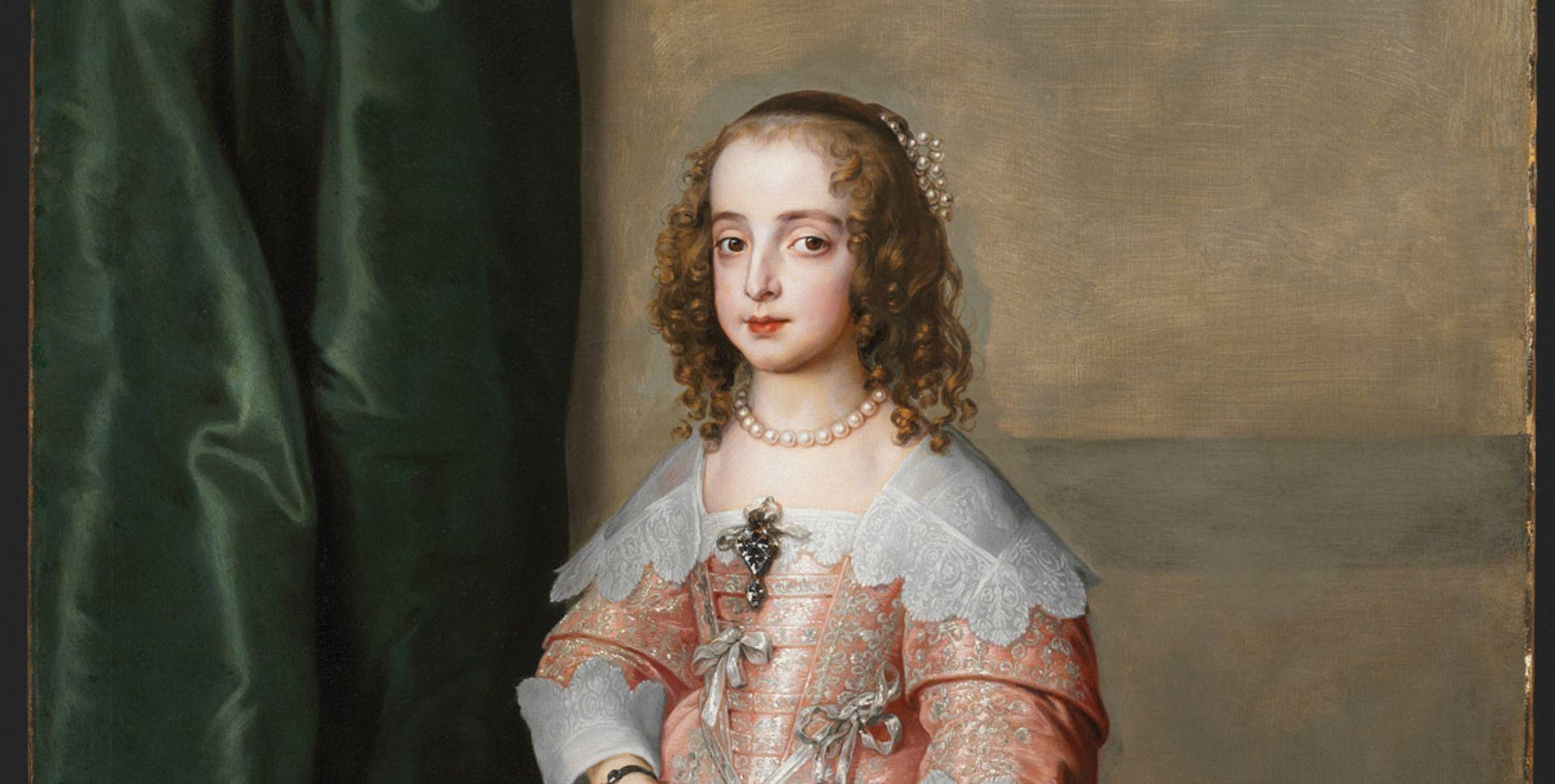 Van Dyck's Portrait of Princess Mary (1641) © Museum of Fine Arts, Budapest