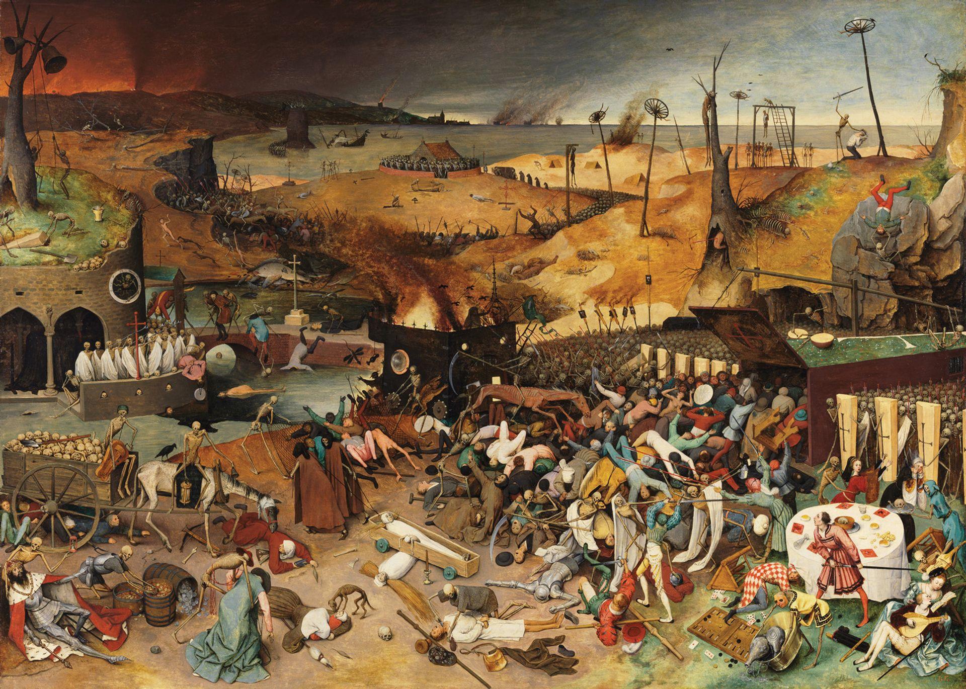 Pieter Bruegel the Elder's The Triumph of Death (1562-63) can be seen at the Kunsthistorisches Museum © Museo Nacional del Prado