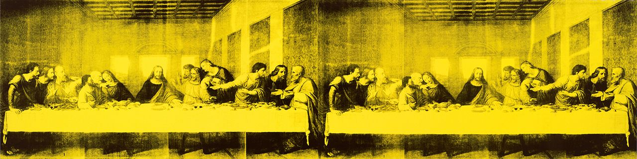 Andy Warhol, the Last Supper (1986) Courtesy of the Baltimore Museum of Art