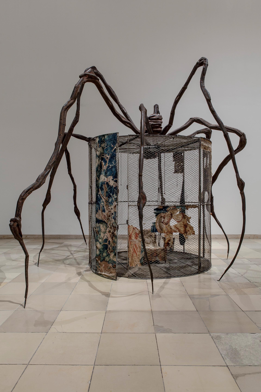 Louise Bourgeois's Spider (1997) © The Easton Foundation/VAGA at ARS, NY and DACS, London 2021. Photo: Maximilian Geuter
