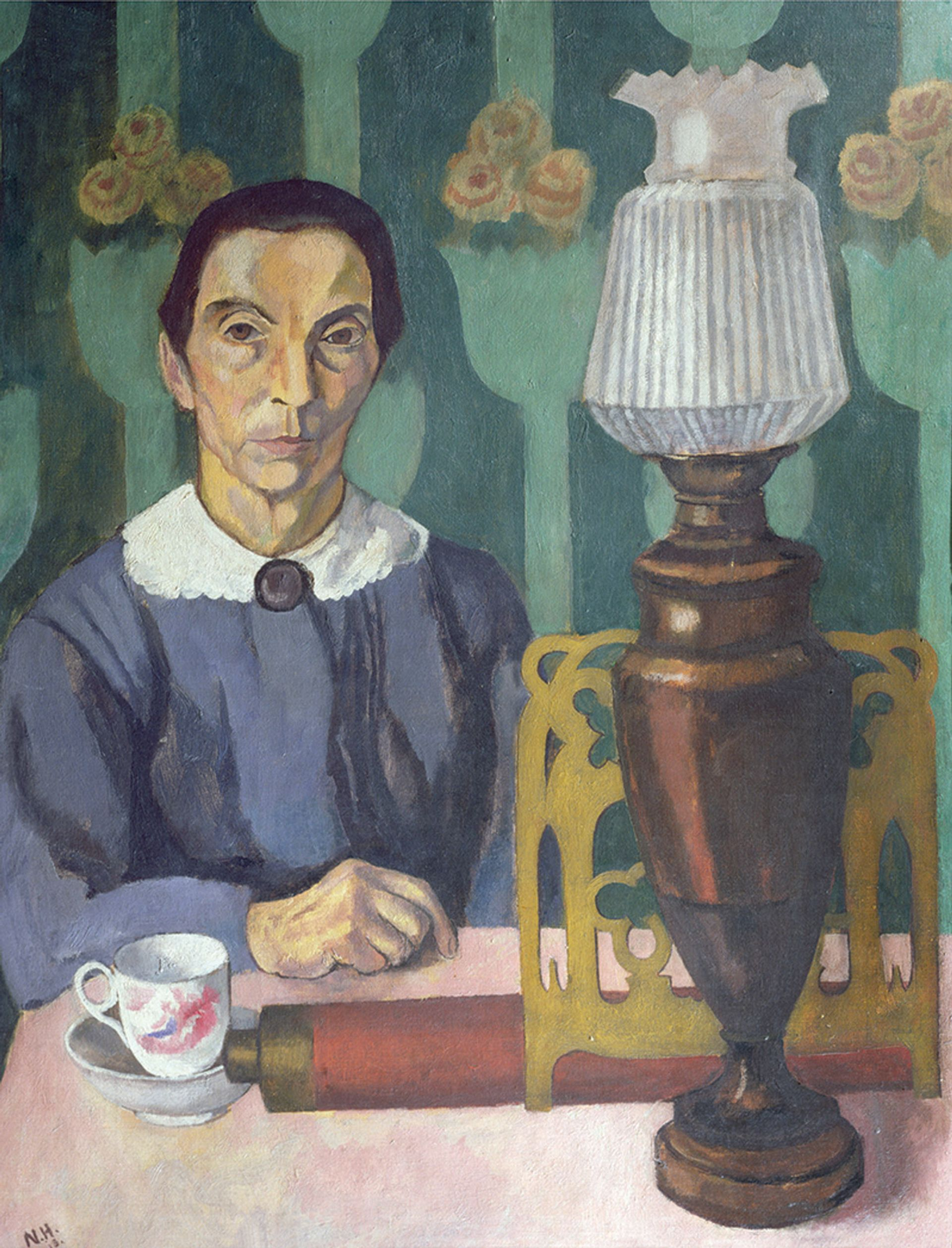 """Nina Hamnett's The Landlady (1918). The artist said she wanted to paint """"psychological portraits"""" that """"represent accurately the spirit of the age"""" Photo: © Bridgeman Images"""