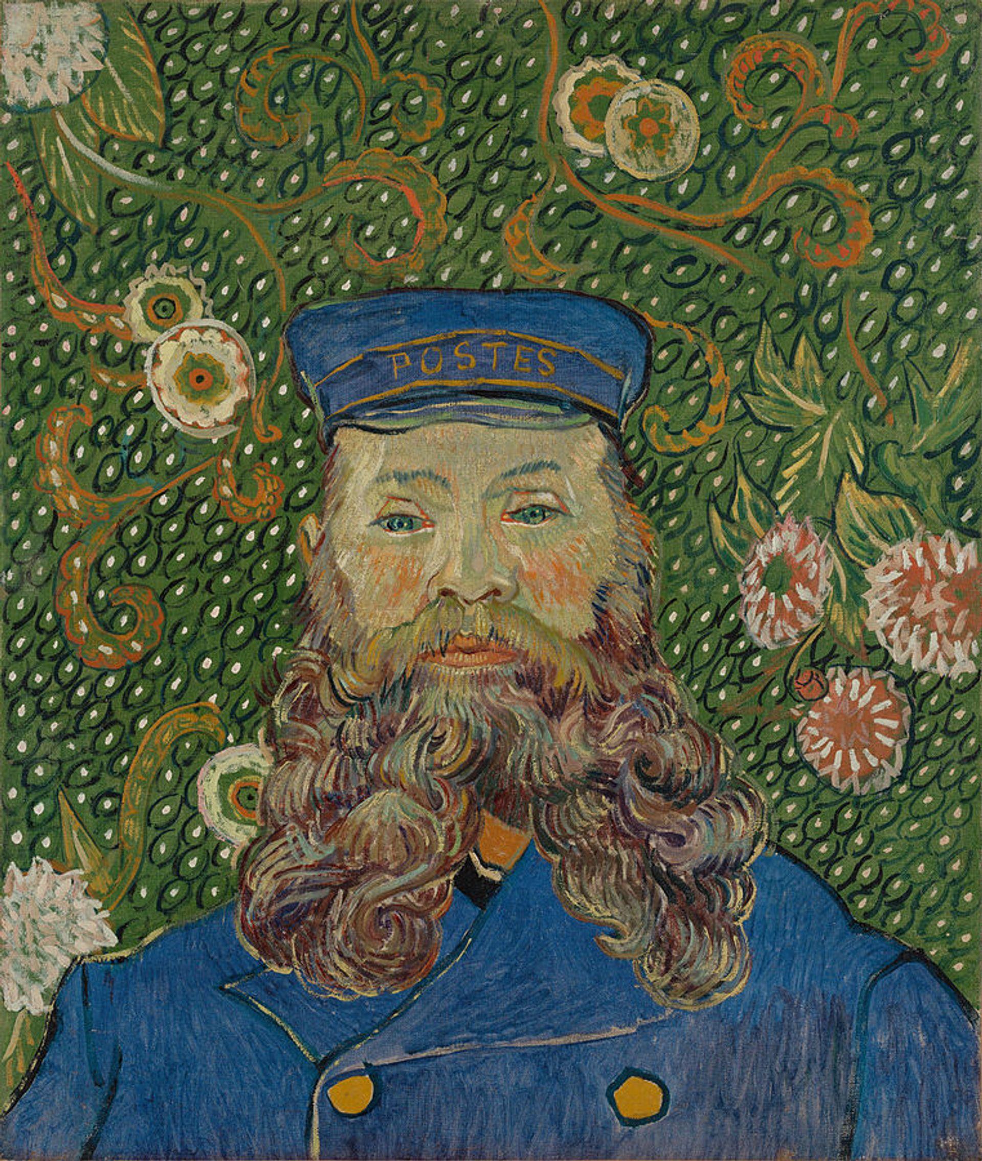 Vincent van Gogh's Portrait of Joseph Roulin (1889) © shooting brooklyn via Wikicommons