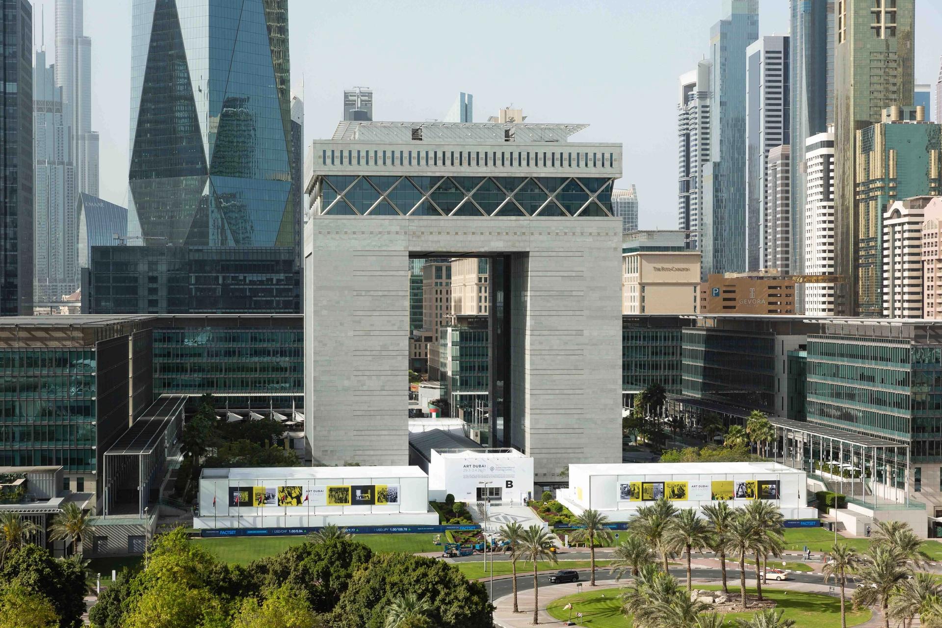 Art Dubai's new venue in the city's financial district, DIFC Courtesy of Art Dubai