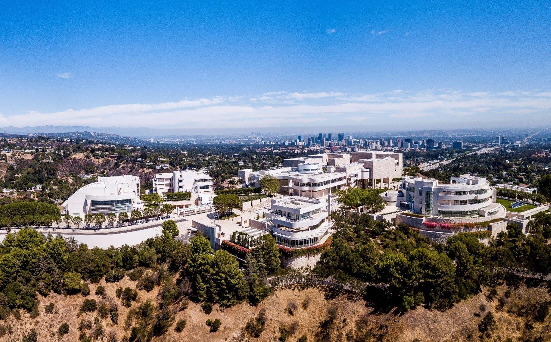 The Getty Center in Los Angeles J. Paul Getty Trust