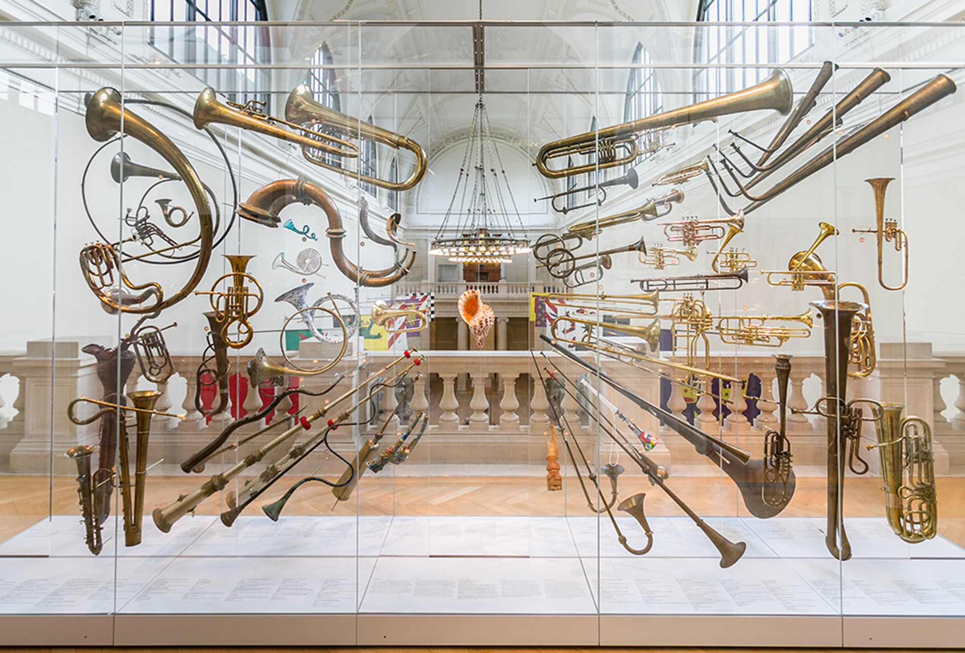 The Met's revamped music galleries include the display Fanfare, organised by the museum's associate curator of musical instruments,Bradley Strauchen-Scherer, which includes 74 brass instruments spanning two millennia with a conch as the centrepiece The Metropolitan Museum of Art
