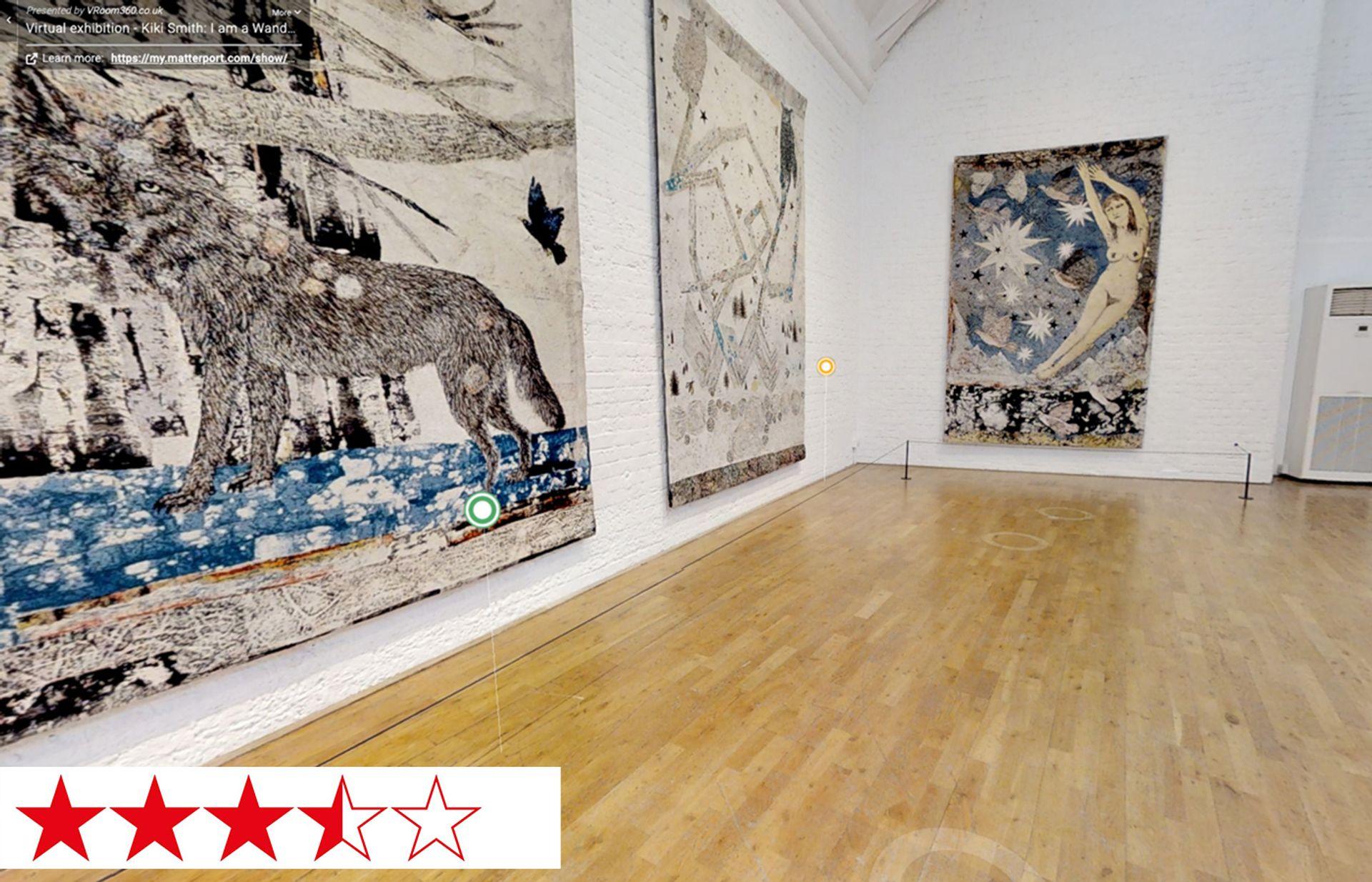 Kiki Smith's I am a Wanderer at Modern Art Oxford
