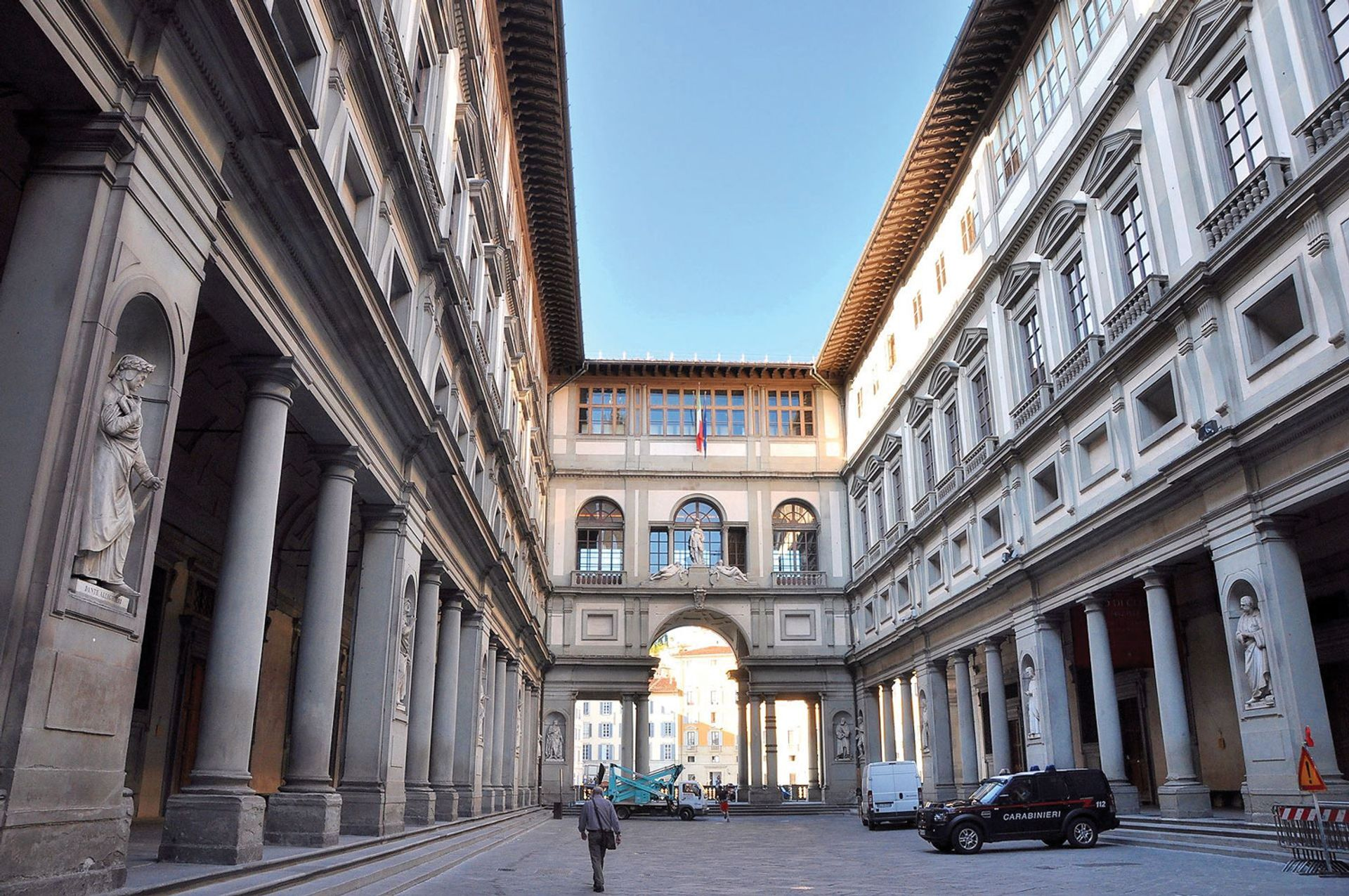 The Uffizi Galleries in Florence, one of the world's most popular museums, has missed out on an estimated €10m in earnings over the Easter season