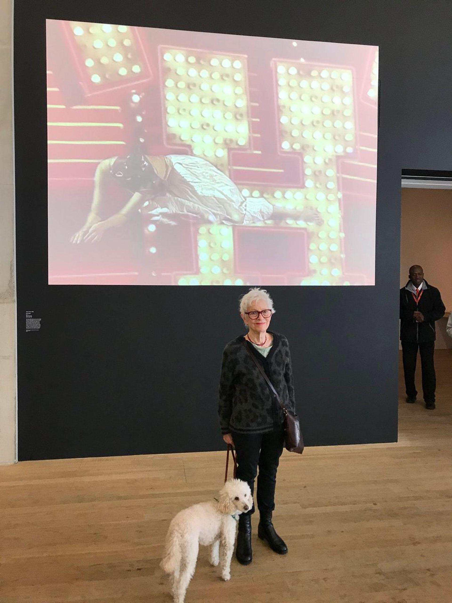 Joan Jonas and Ozu at Tate Modern Gareth Harris/Twitter