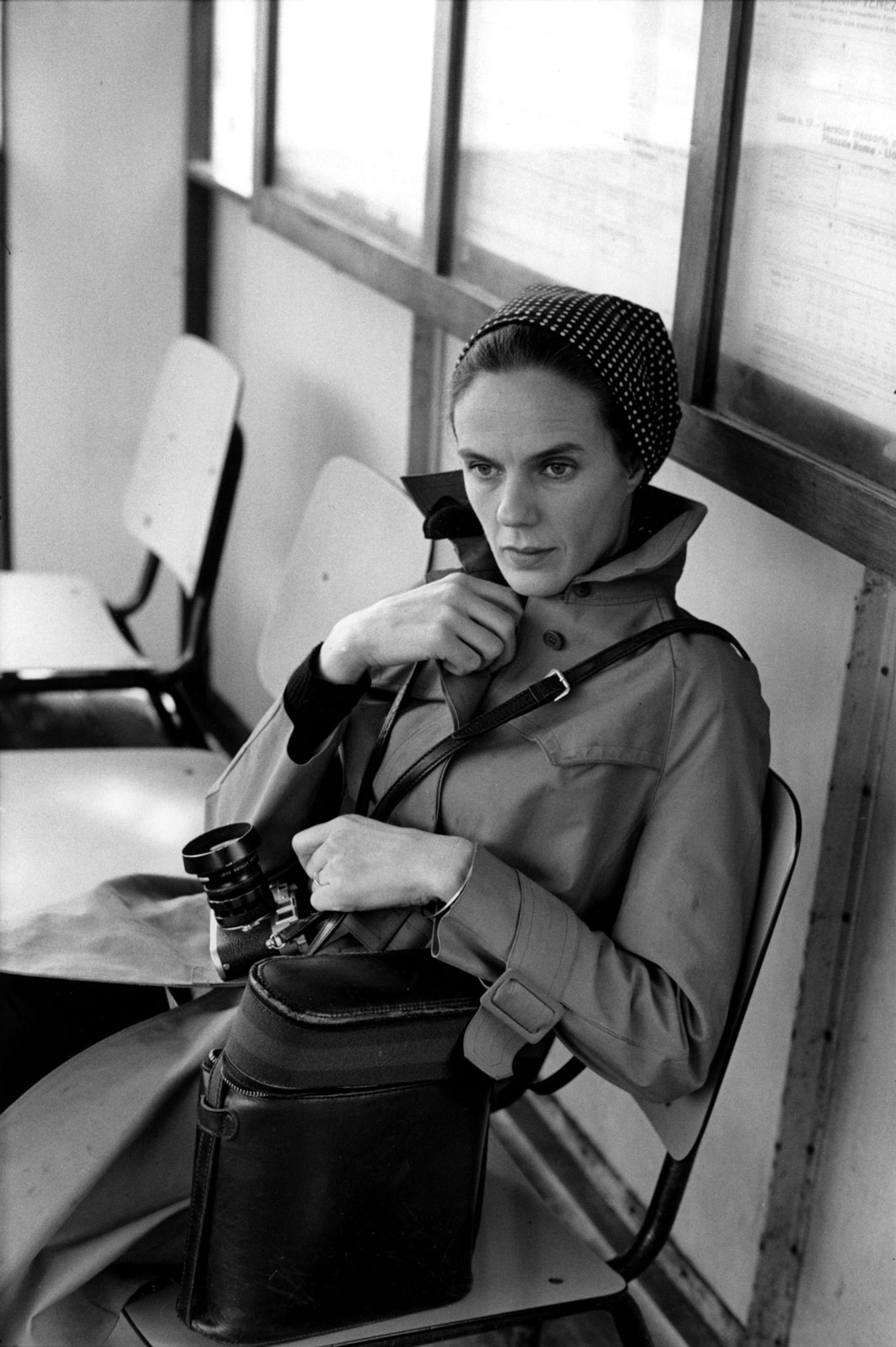 Martine Franck, photographed by Cartier-Bresson, set up their foundation in 2002 © Henri Cartier-Bresson/Magnum Photos