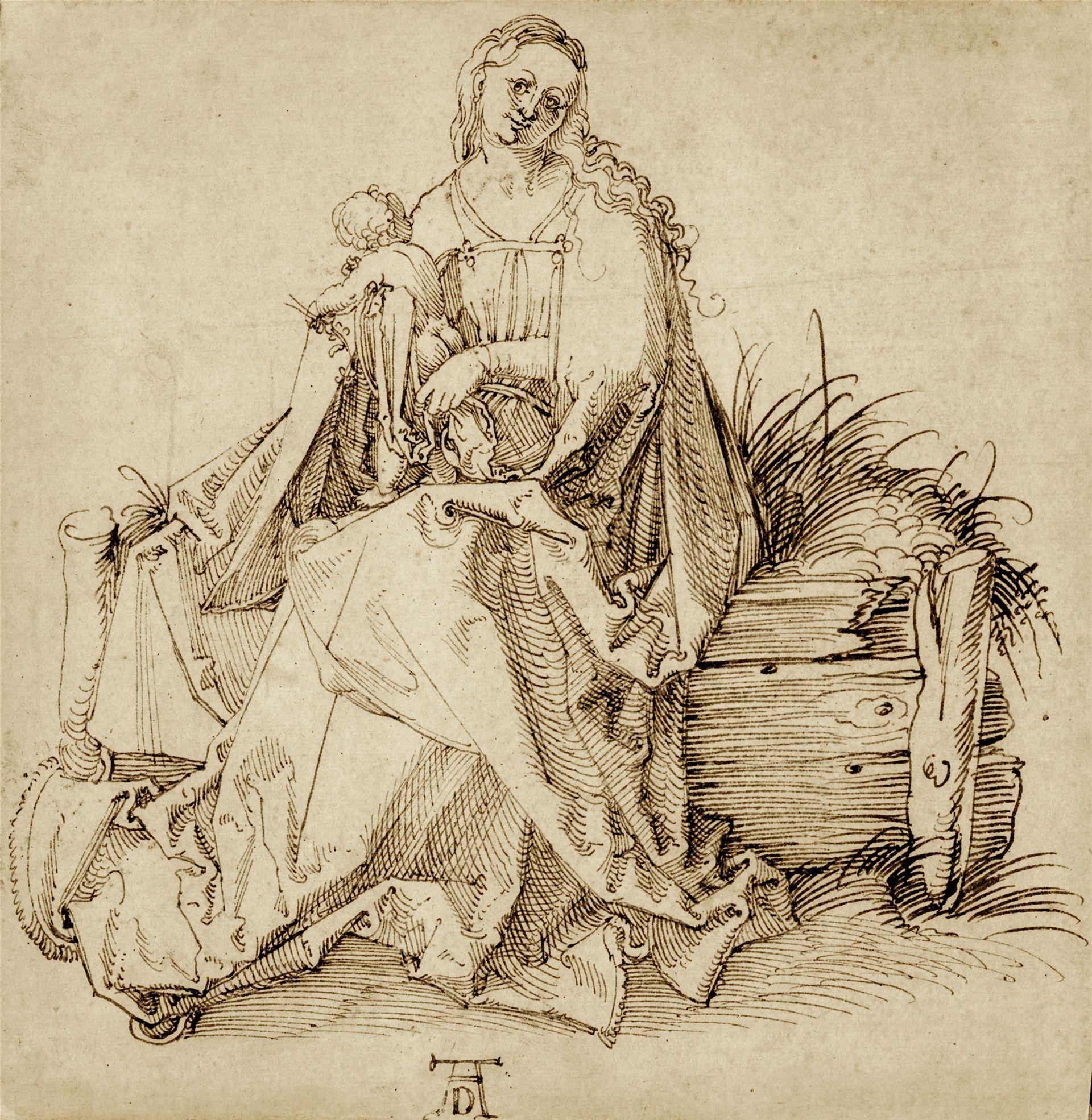 Albrecht Dürer, the Virgin and Child (around 1503) © Agnews, London