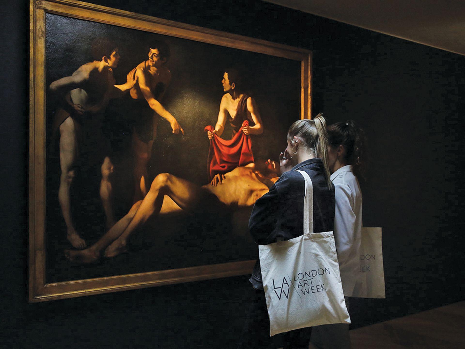 London Art Week visitors in July this year London Art Week