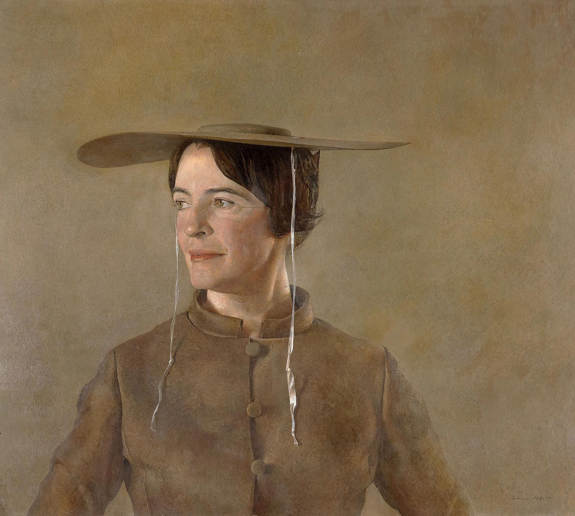 Andrew Wyeth (1917 - 2009), Maga's Daughter (1966). Andrew and Betsy Wyeth Collection © Andrew Wyeth/ARS, NY