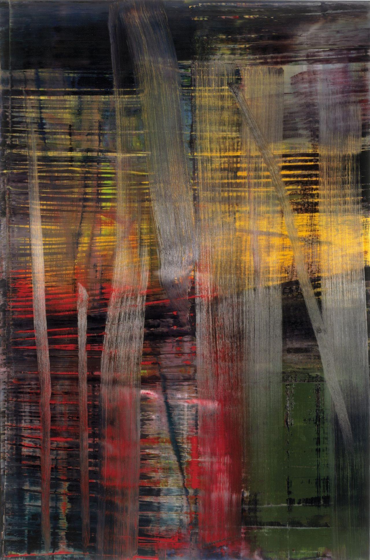 Gerhard Richter, Forest (4) (2005) © Gerhard Richter