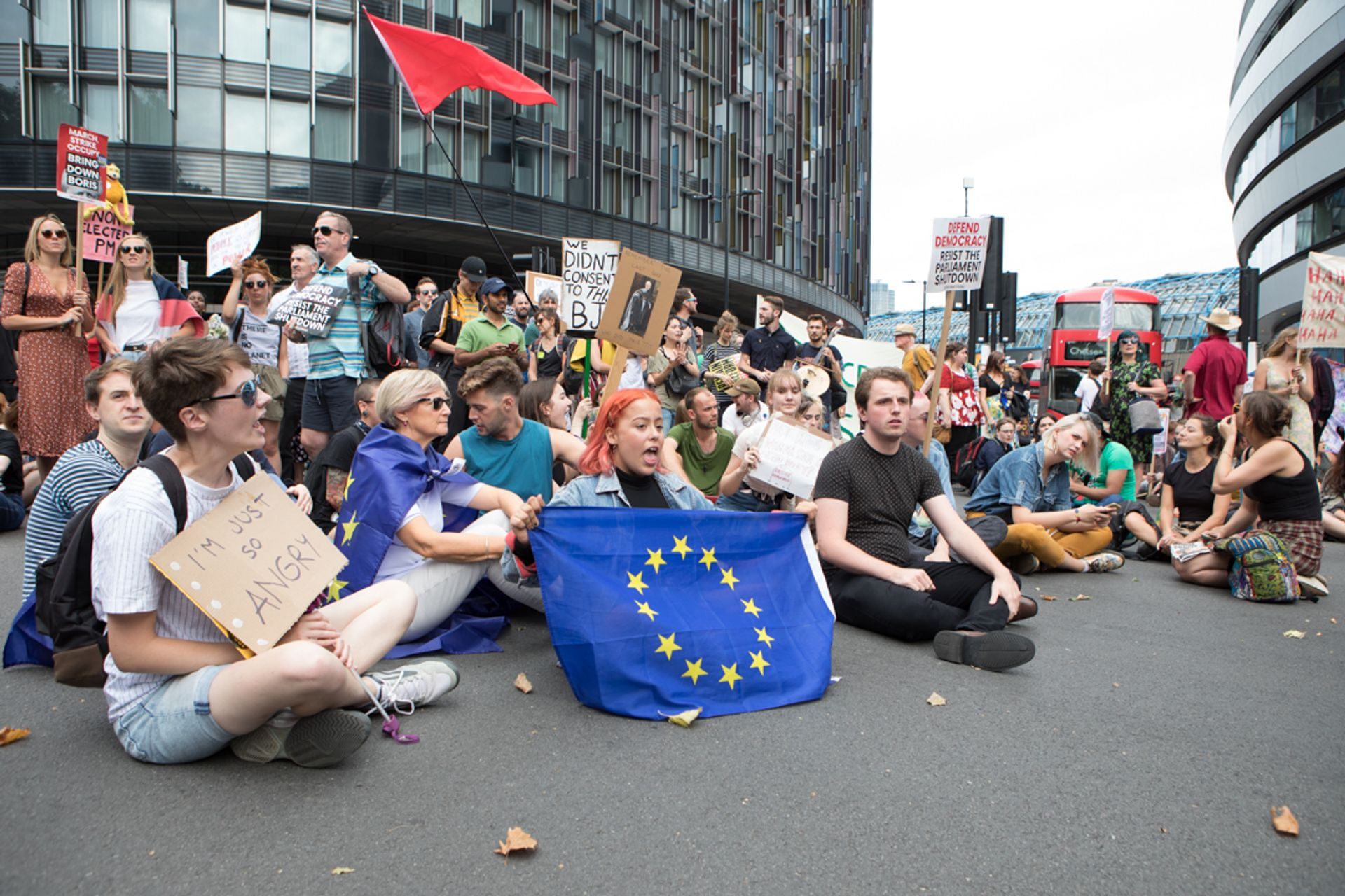 It is estimated that around 73% of people under 24 voted to remain in the European Union Photo: David Owens