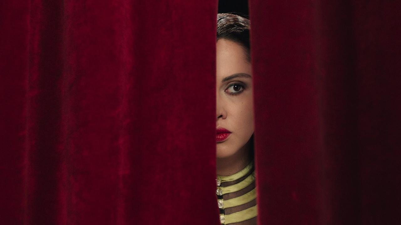 A still from Shirin Neshat's film Looking for Oum Kulthum Courtesy of the artist and Goodman Gallery. © Razor Film