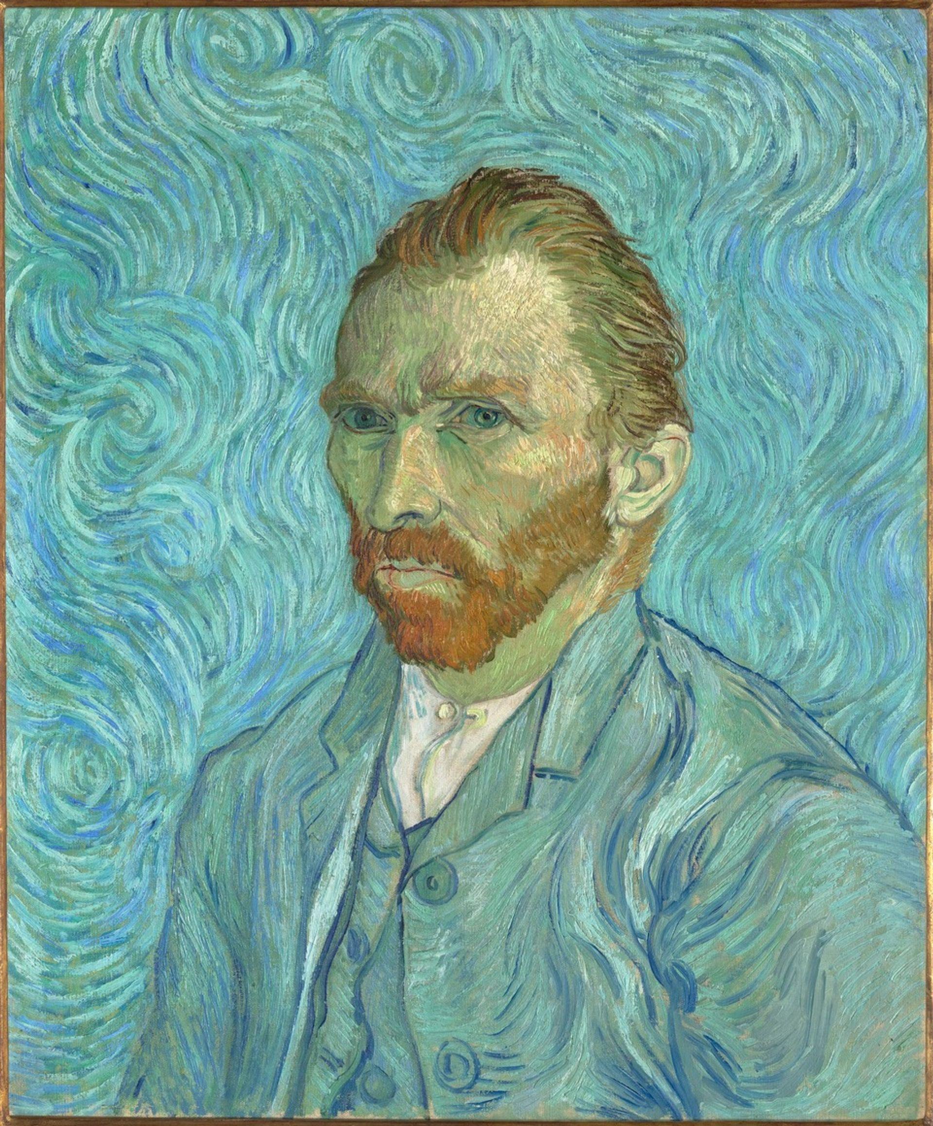 Vincent van Gogh, Self-portrait (1889), given to Dr Paul Gachet © Photo: Distribution RMN Musée d'Orsay, Paris/Patrice Schmidt