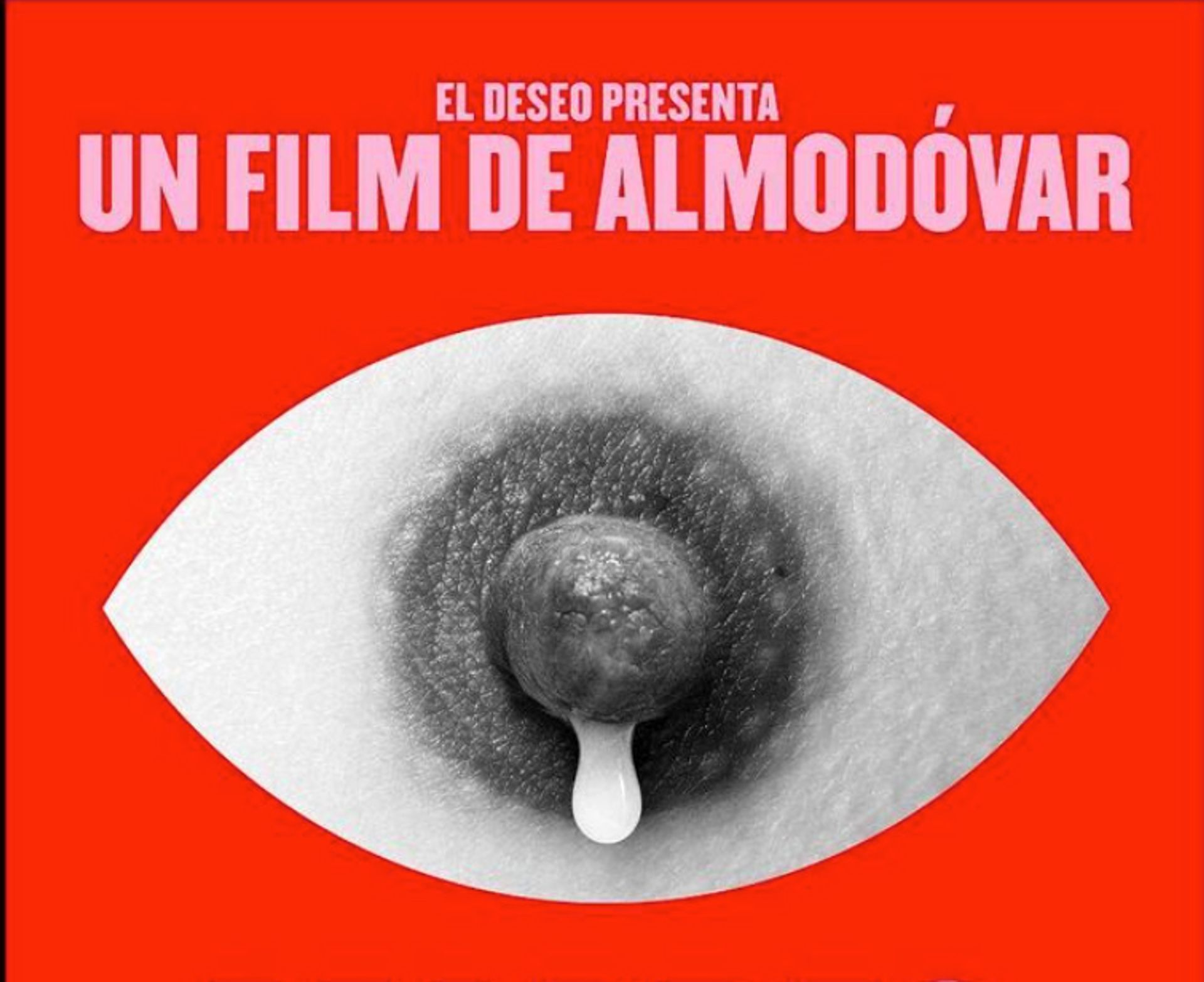 A promotional film poster for Pedro Almodóvar's film Madres Paralelas was banned from Instagram Courtesy of Javier Jaen
