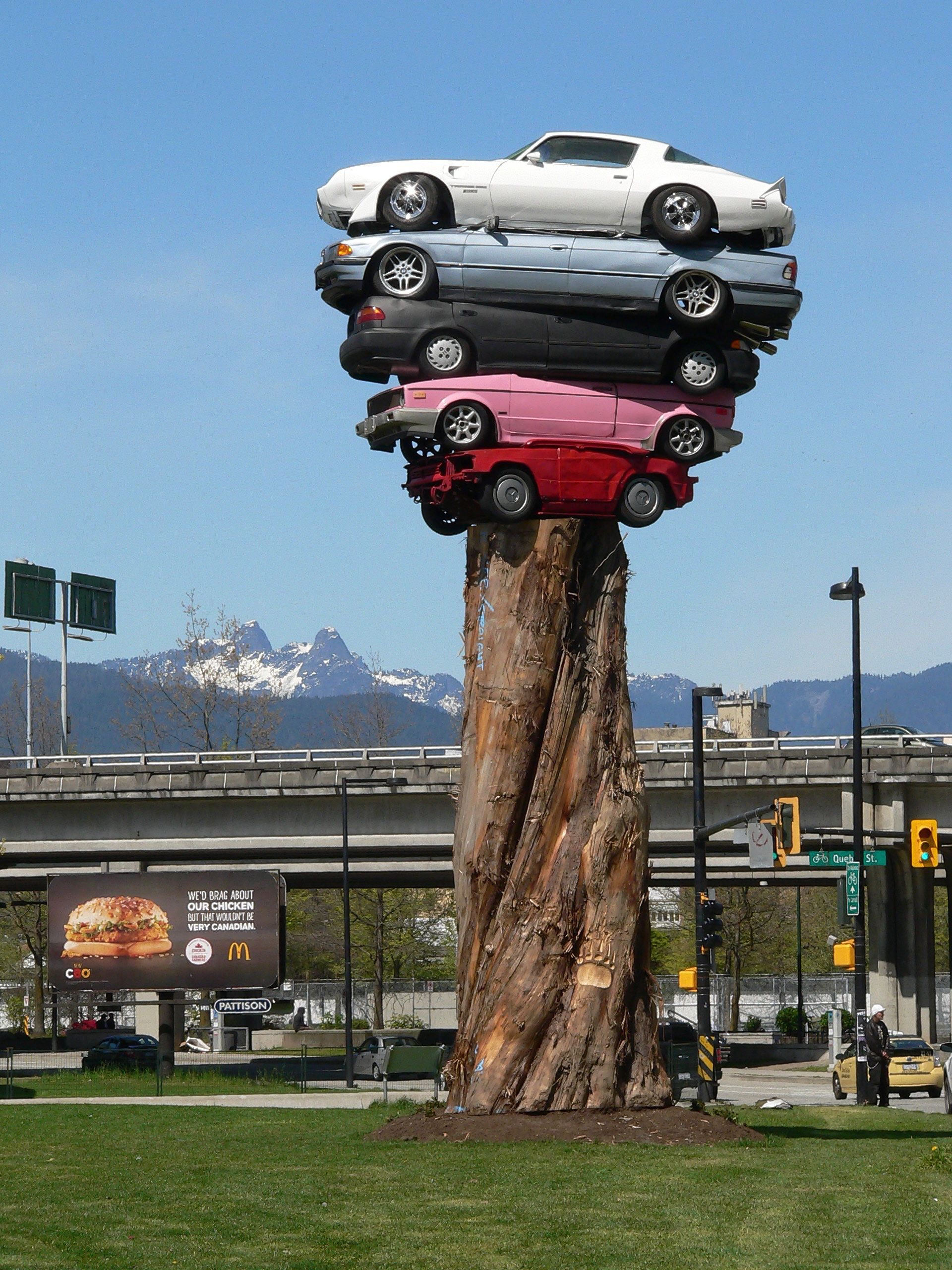 Trans Am Totem (2014), by Marcus Bowcott and Helene Aspinall