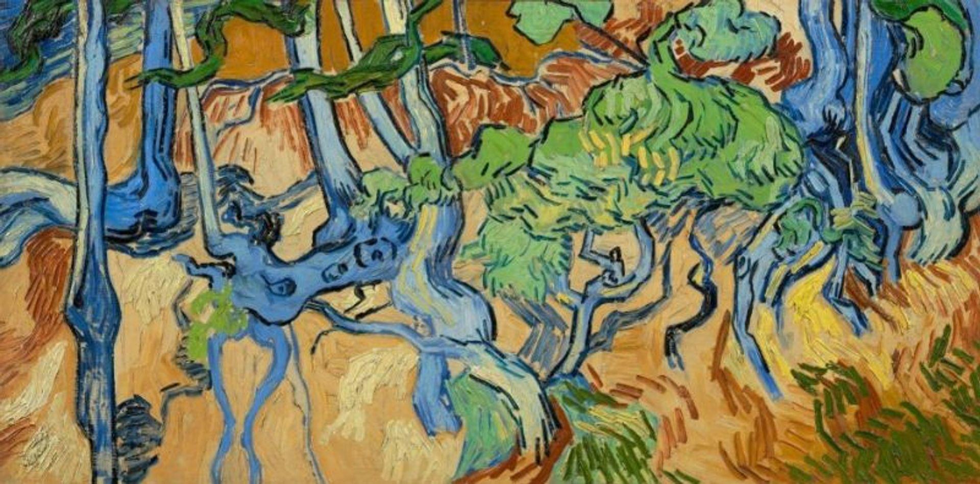 Vincent van Gogh's Tree Roots (1890) Courtesy of Van Gogh Museum, Amsterdam (Vincent van Gogh Foundation)