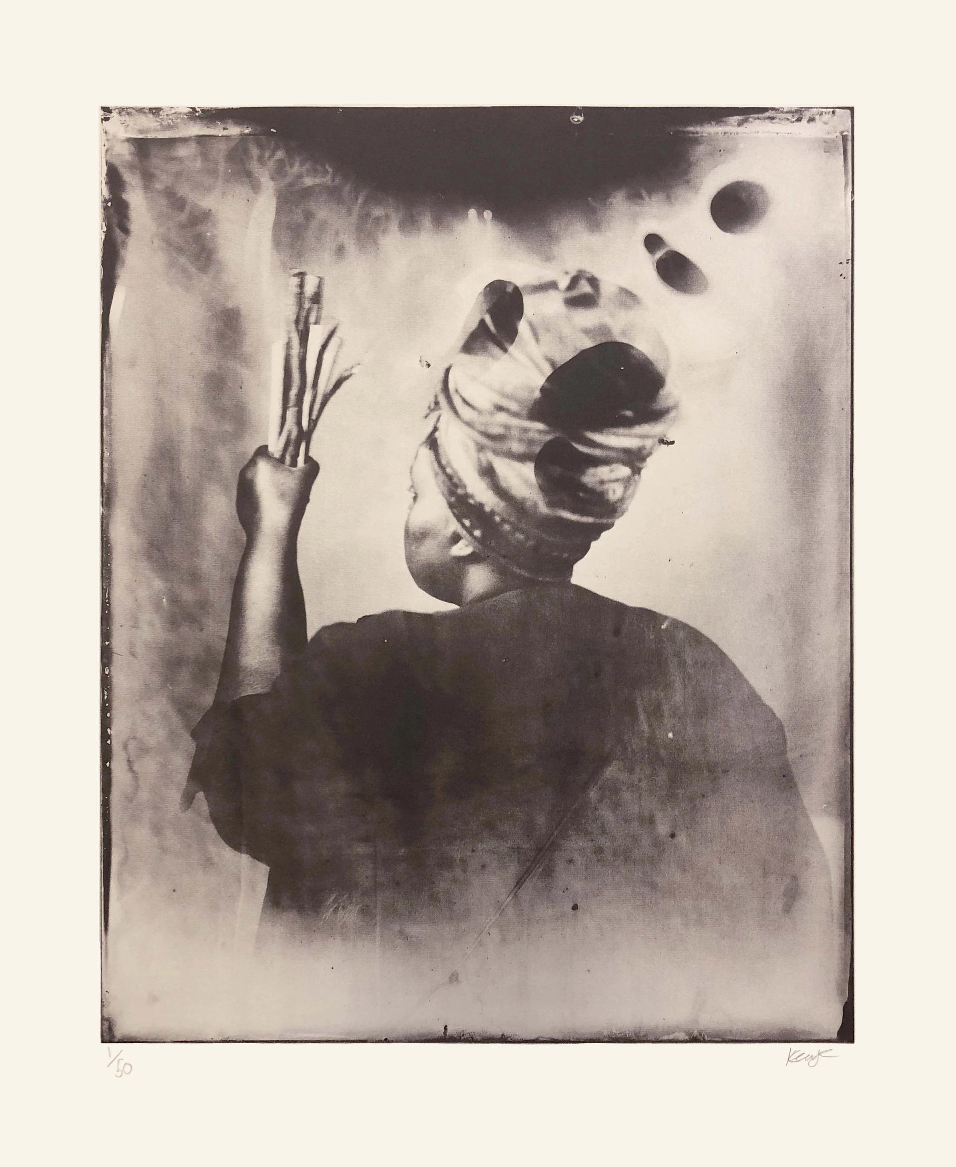 Khadija Saye's Sothiou (2017) from the series, in this space we breath (2017- 2018) © The Estate of Khadija Saye