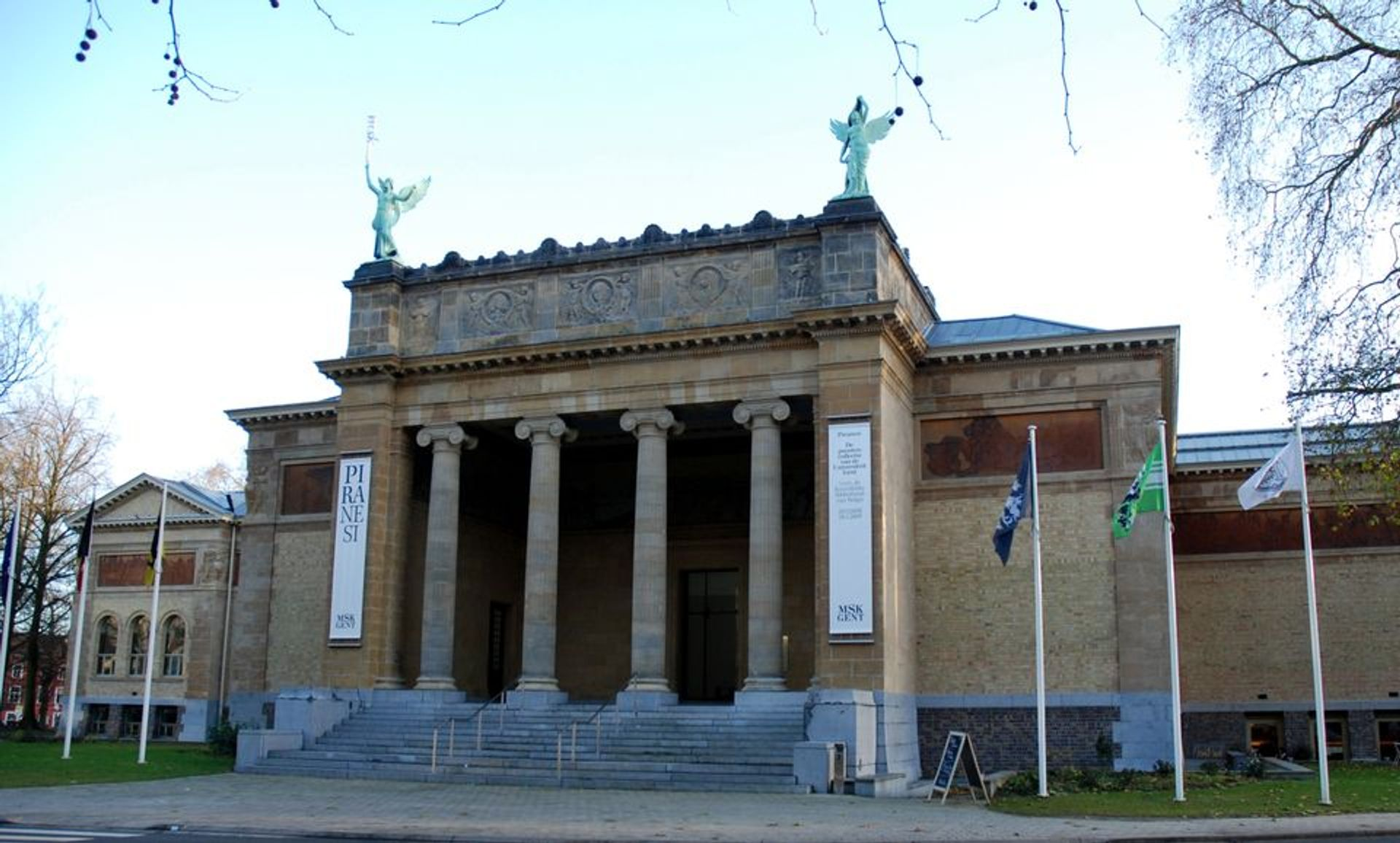Ghent Museum of Fine Arts courtesy Wikicommons
