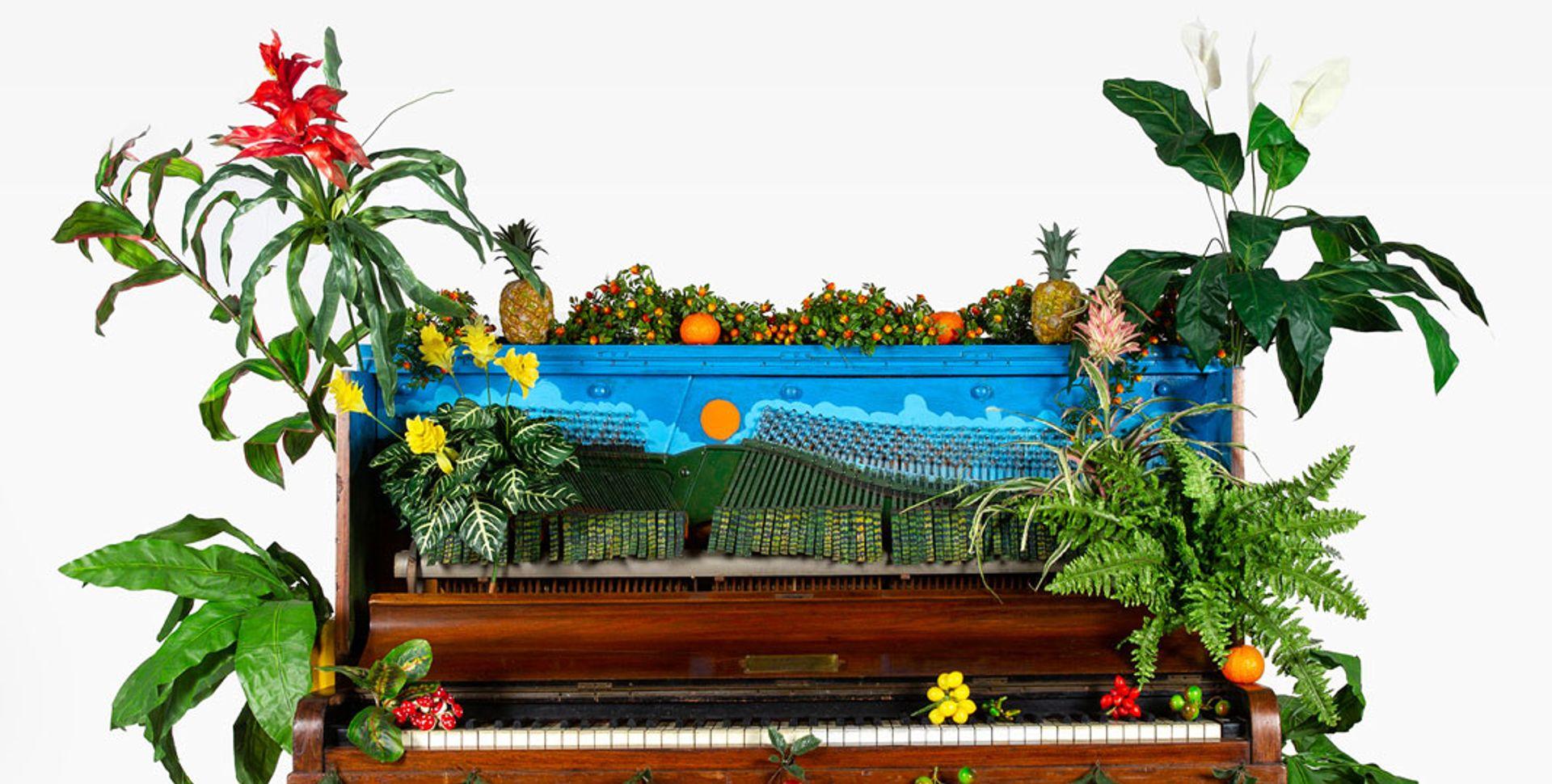 Benjamin Patterson, Piano d'oiseux tropical (1989) Photo: © Giorgia Palmisano