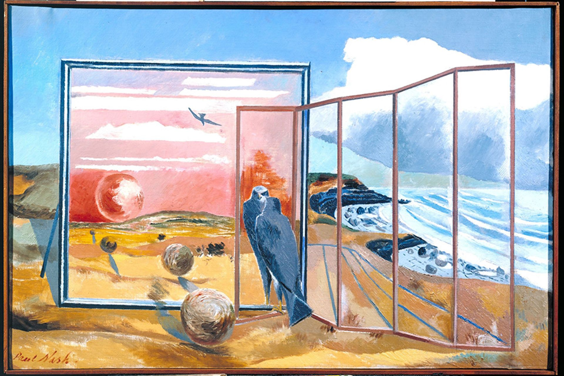 Paul Nash, Landscape from a Dream (1936-38) Courtesy Tate London